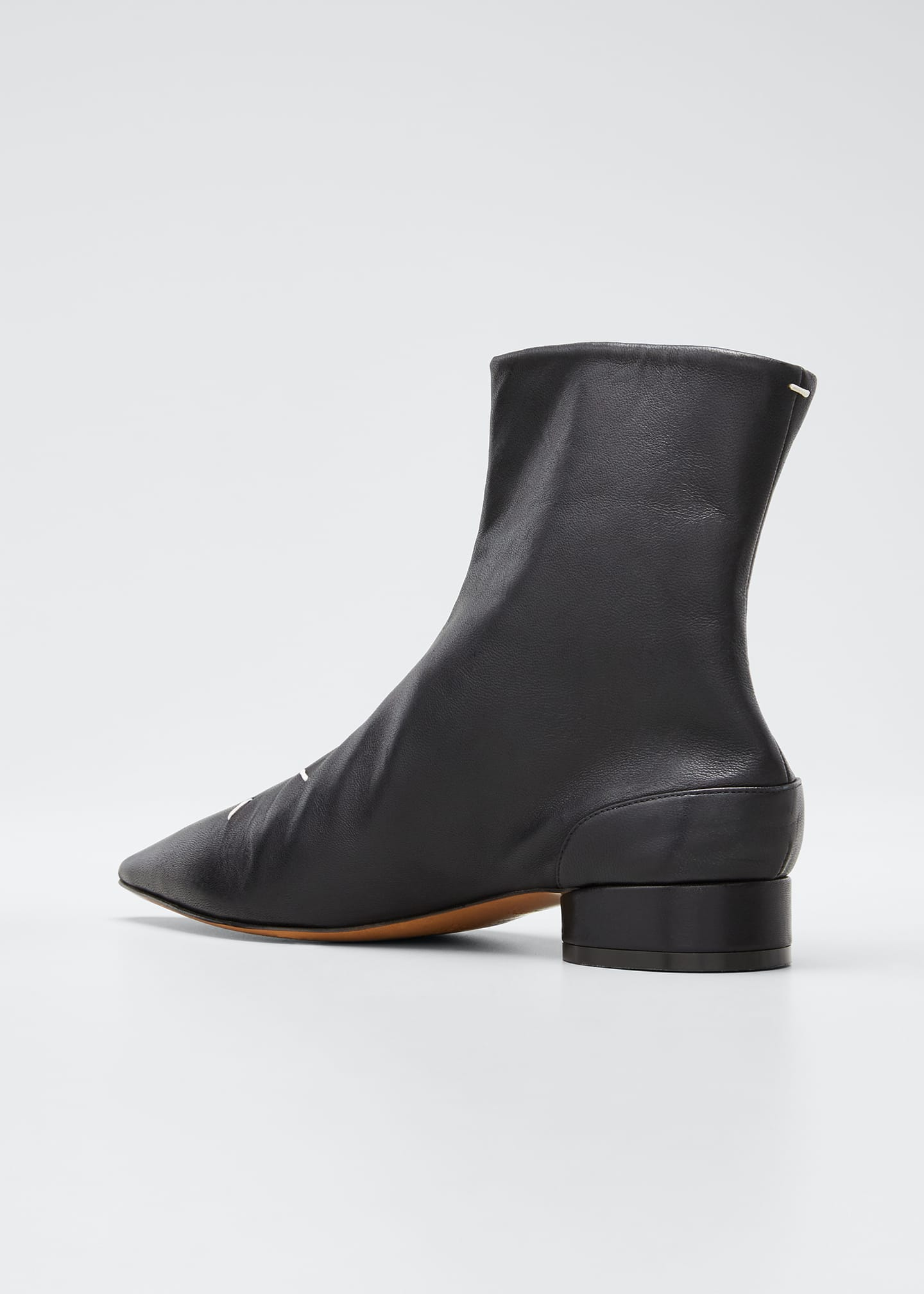 Image 4 of 5: Kiki Pointed-Toe Booties