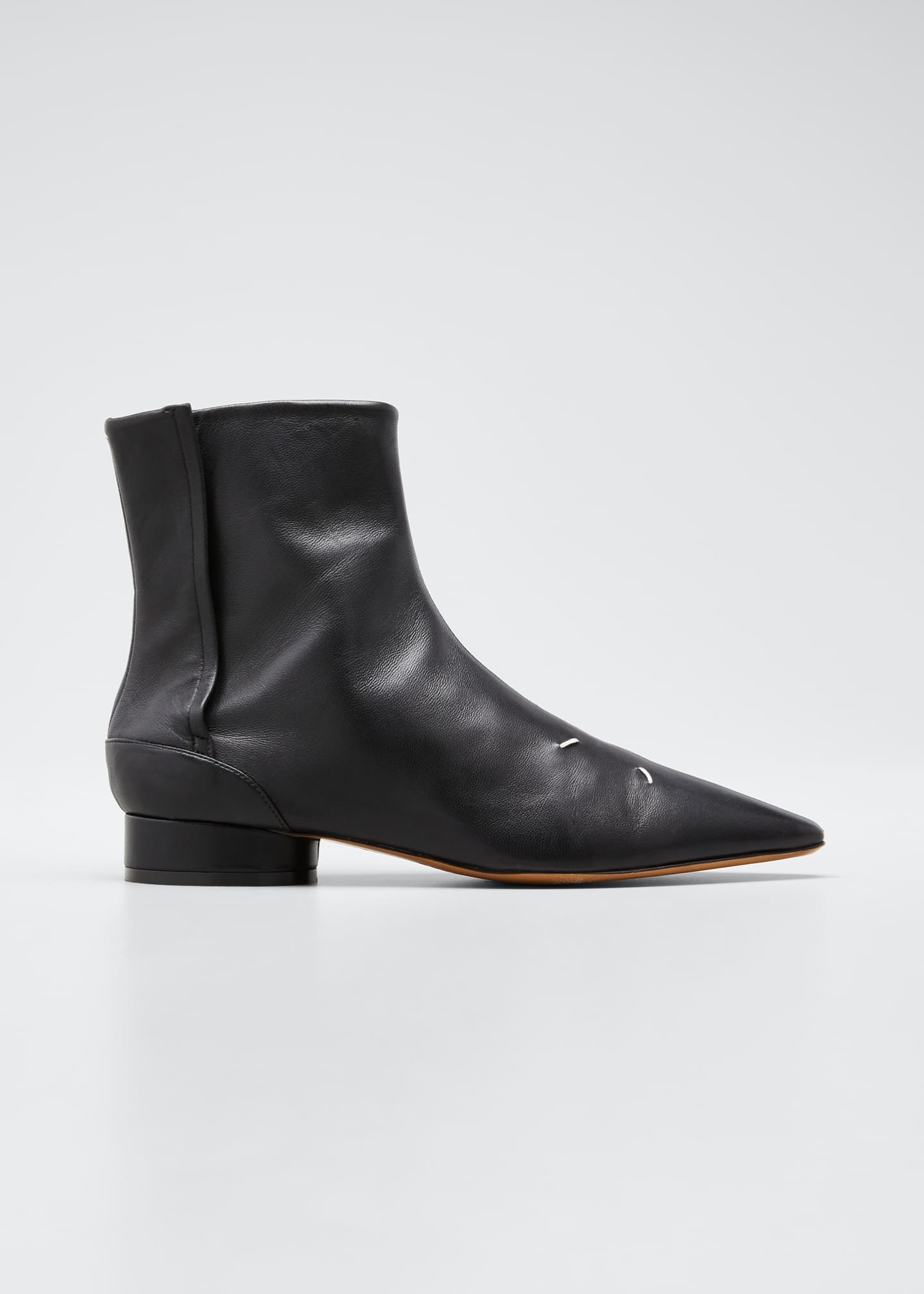 Image 1 of 5: Kiki Pointed-Toe Booties