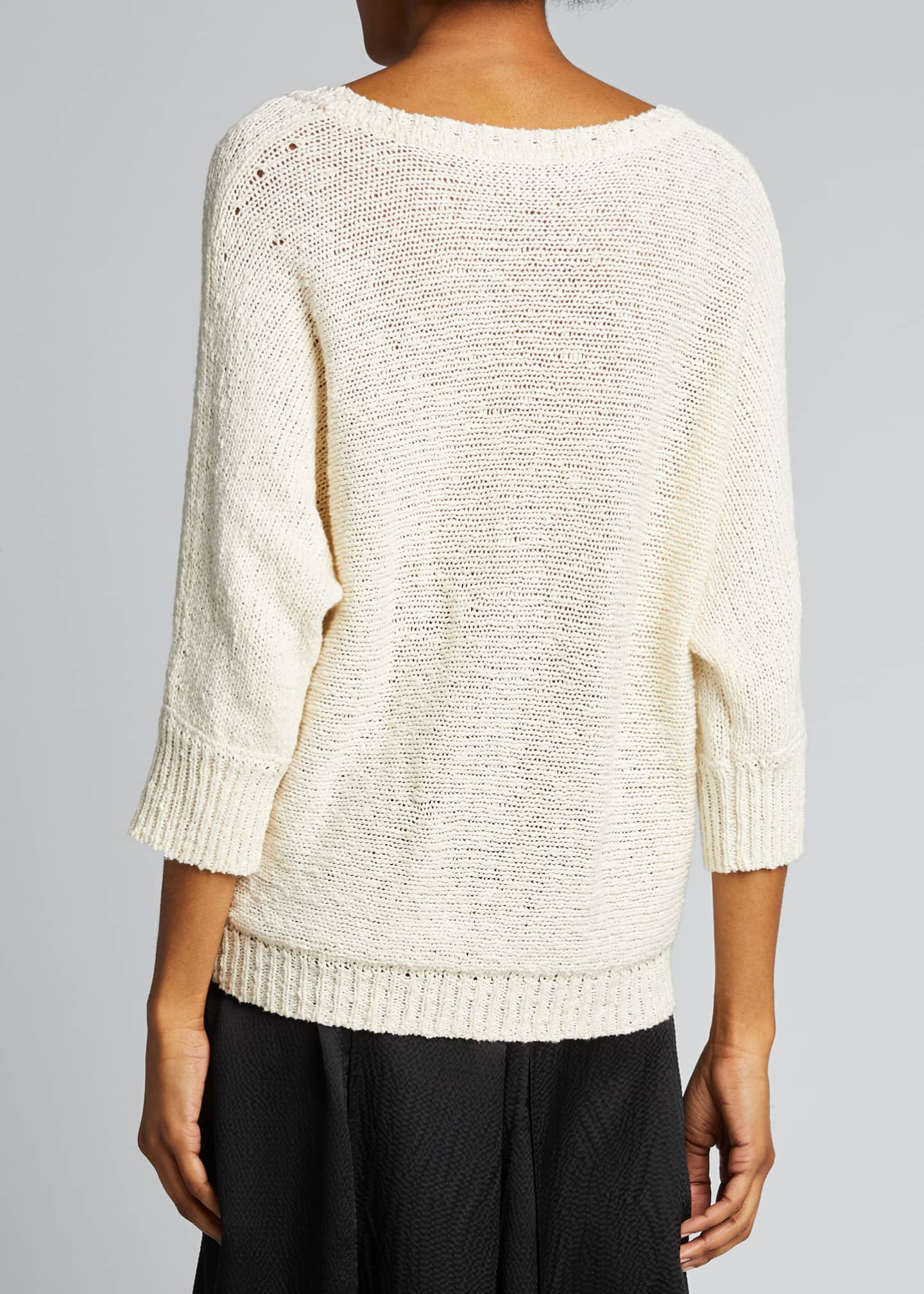 Image 2 of 5: Monroe Cotton/Hemp Sweater