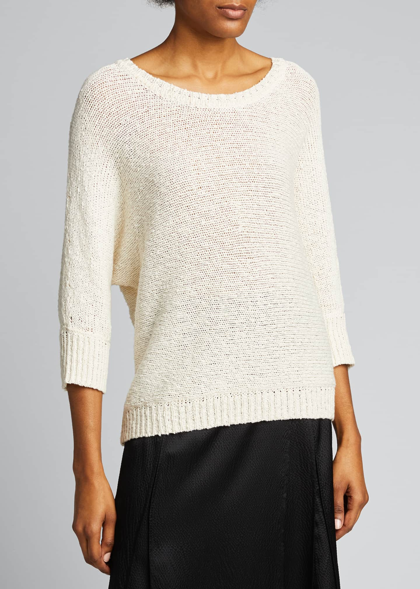 Image 3 of 5: Monroe Cotton/Hemp Sweater