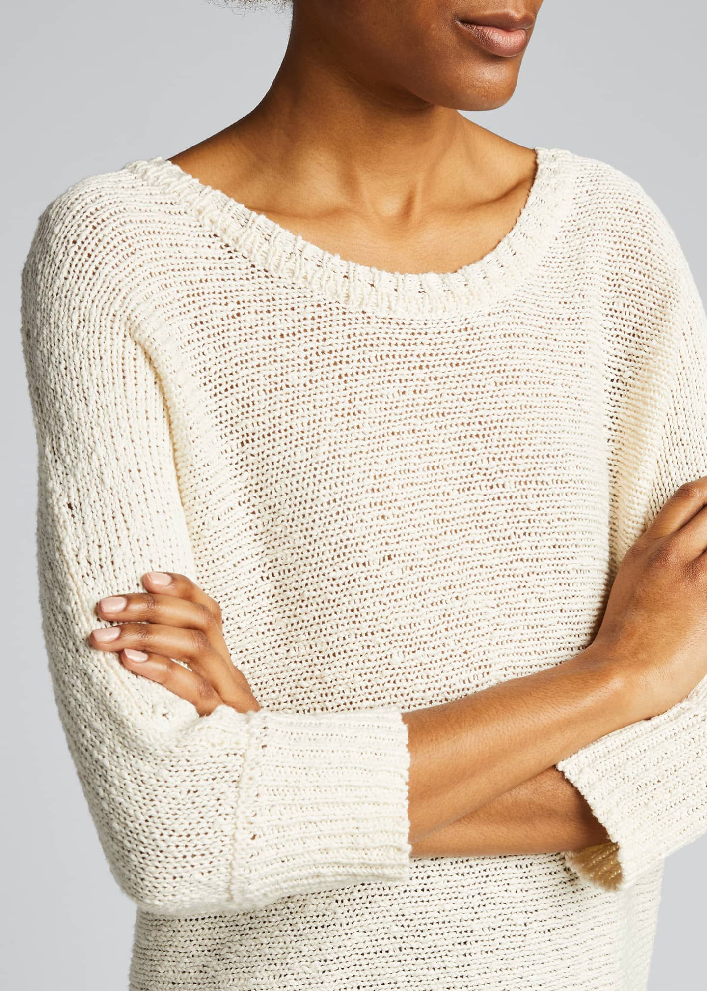 Image 4 of 5: Monroe Cotton/Hemp Sweater