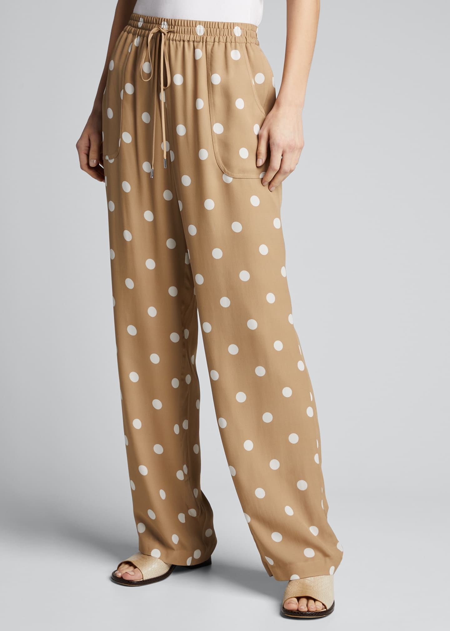 Image 3 of 5: Zuma Dot-Print Pants