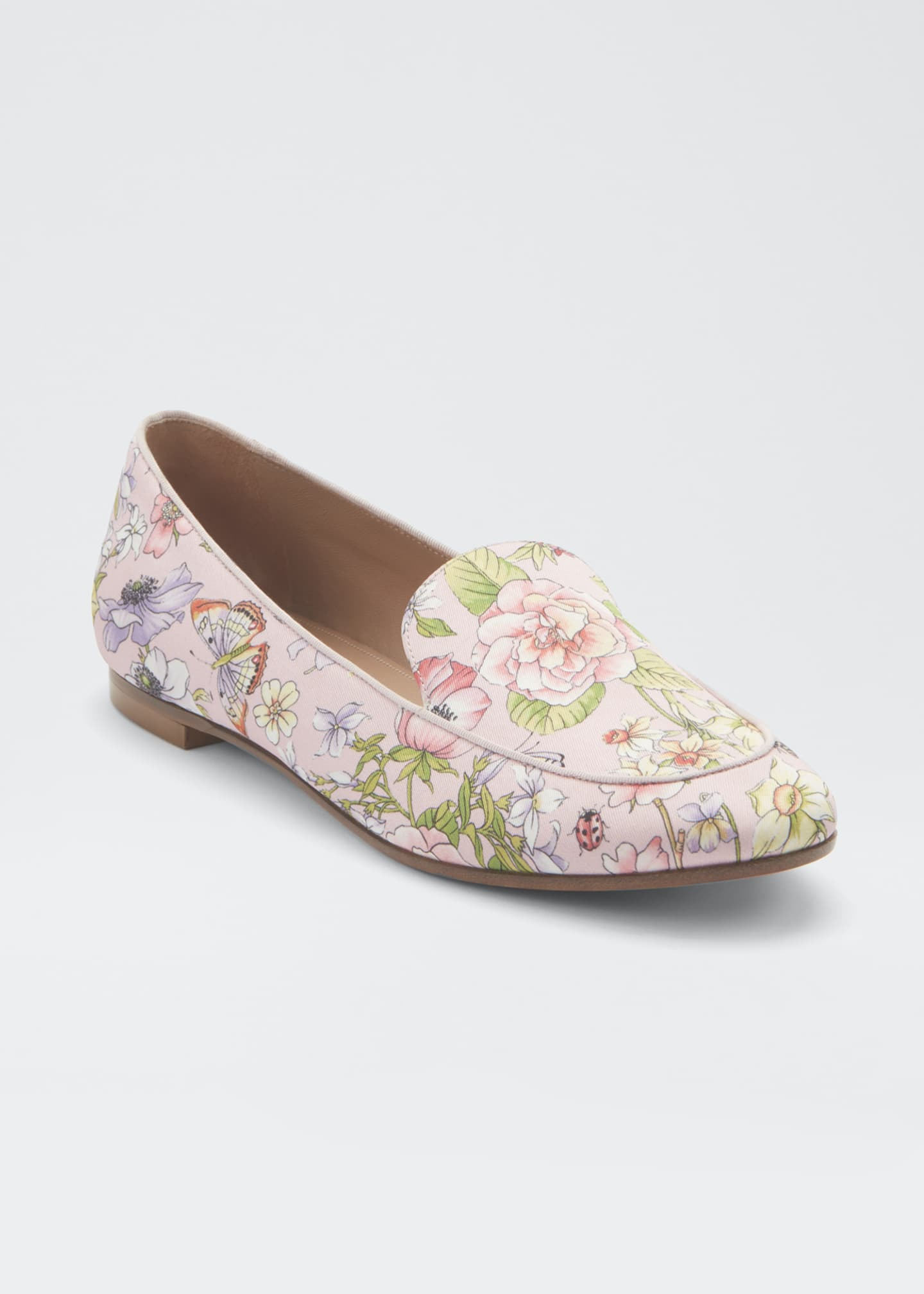 Image 2 of 3: Purist Floral-Print Flat Loafers