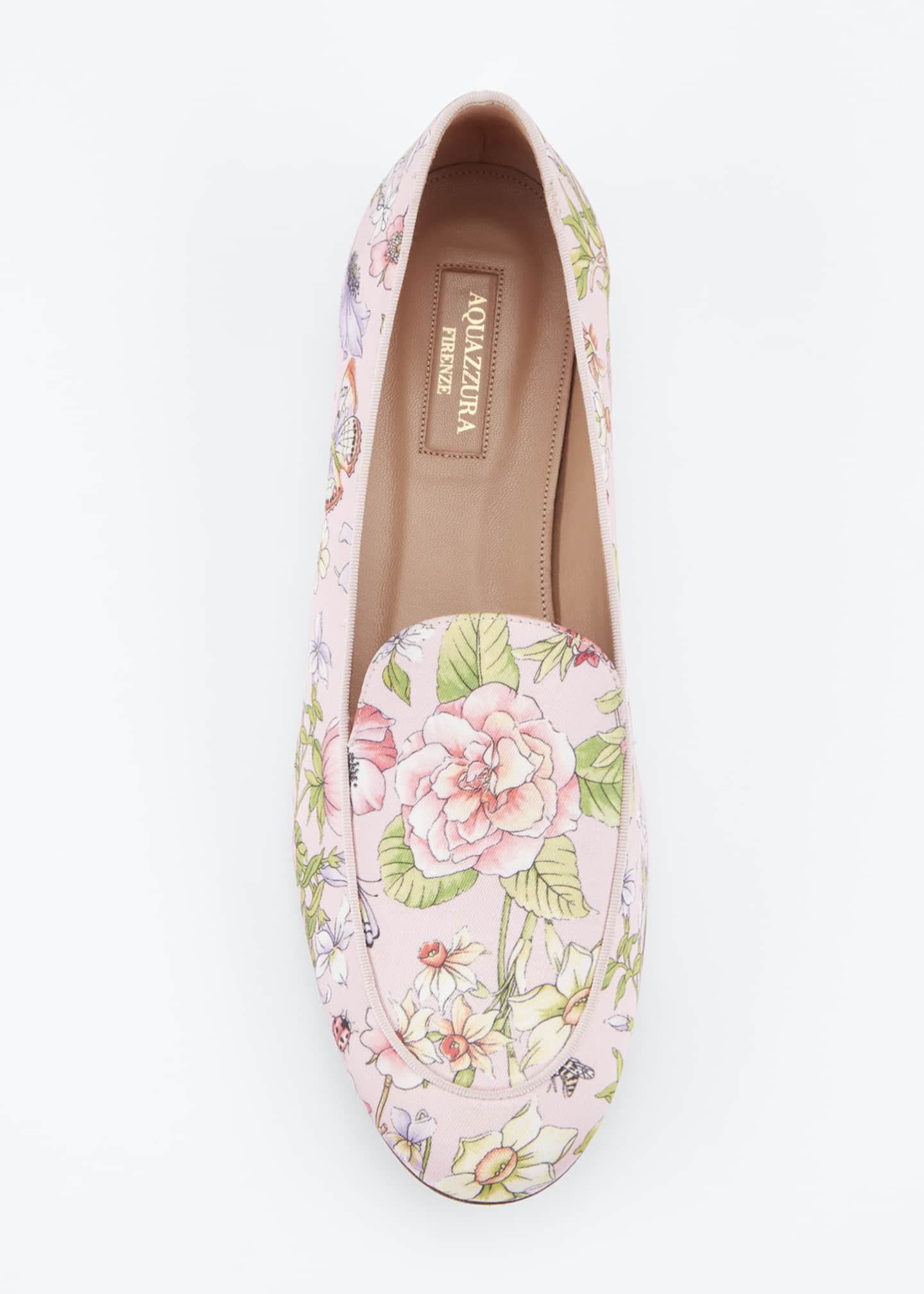 Image 3 of 3: Purist Floral-Print Flat Loafers