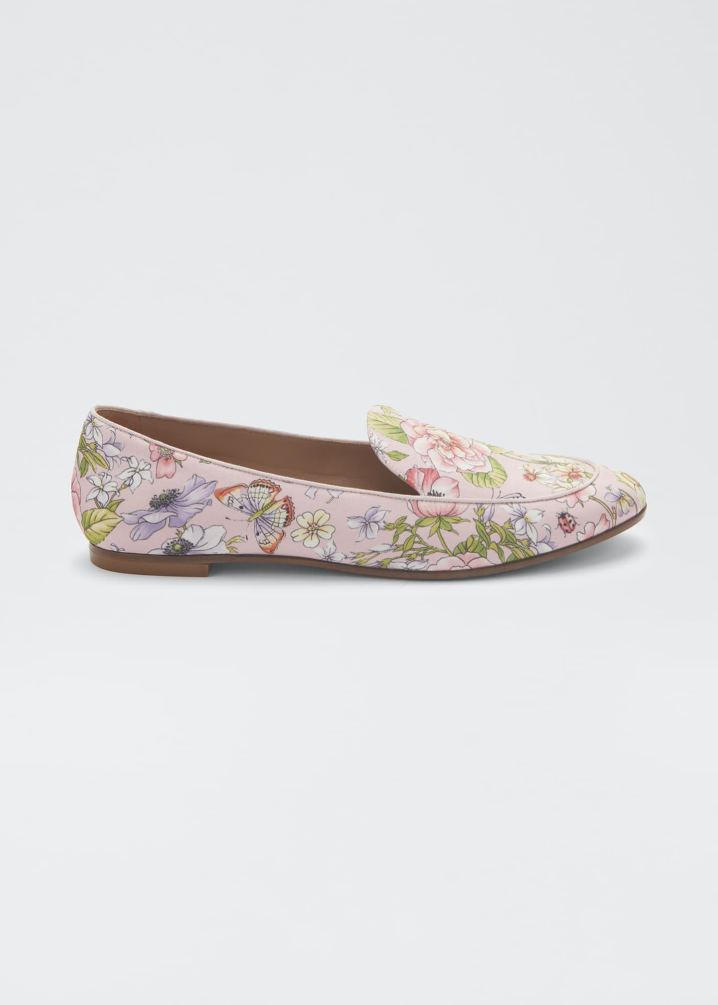Image 1 of 3: Purist Floral-Print Flat Loafers