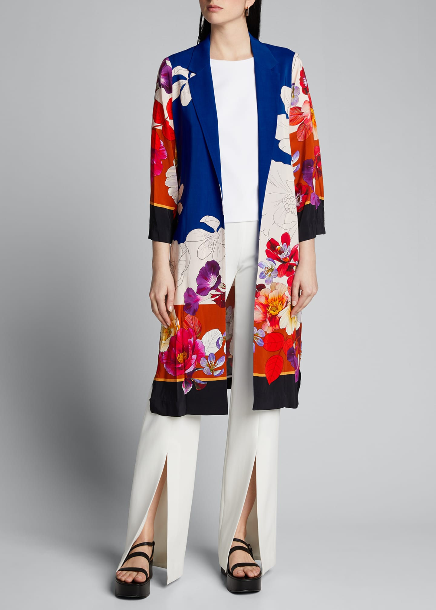 Image 3 of 5: Estee Floral Print Topper Jacket