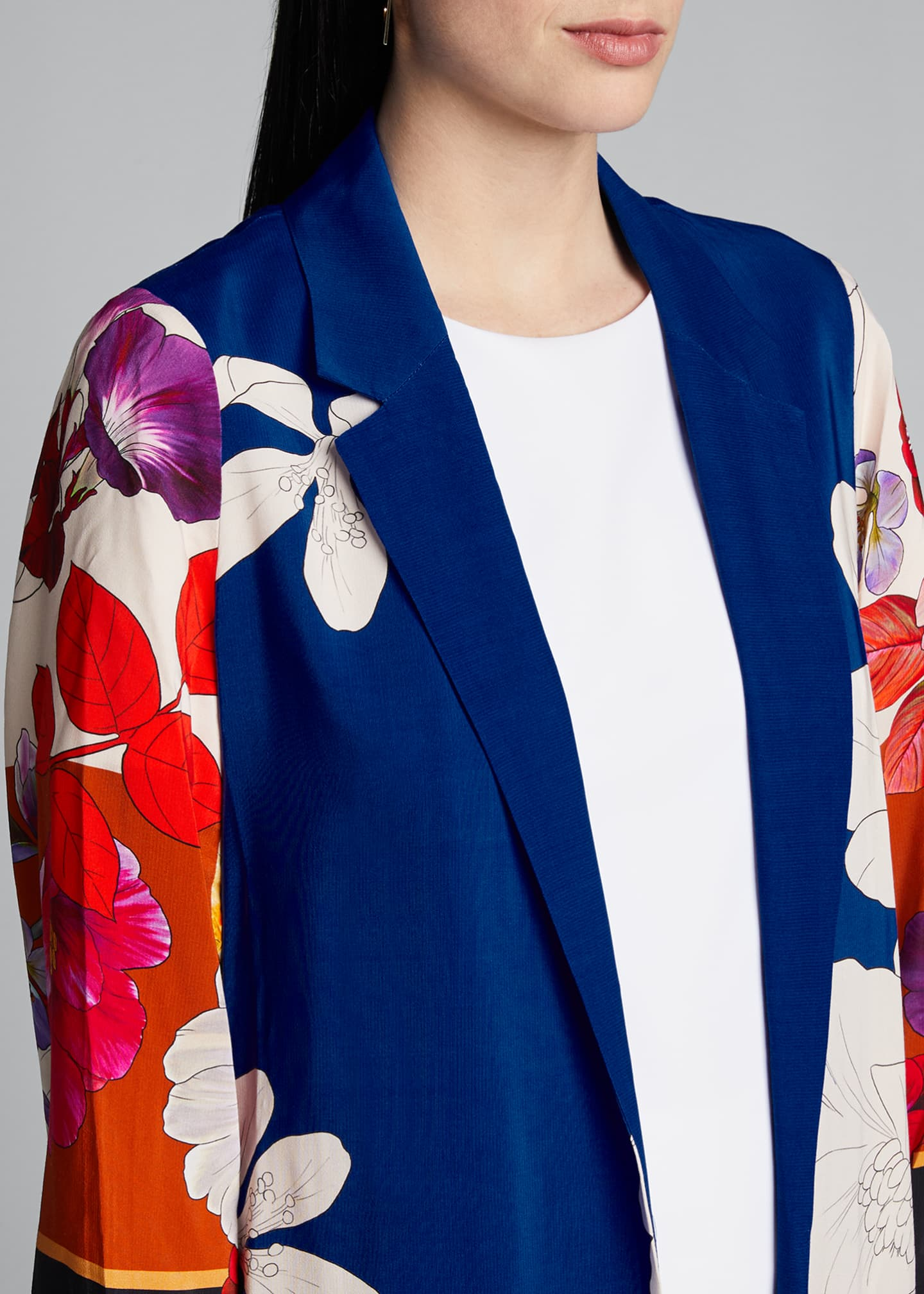 Image 4 of 5: Estee Floral Print Topper Jacket
