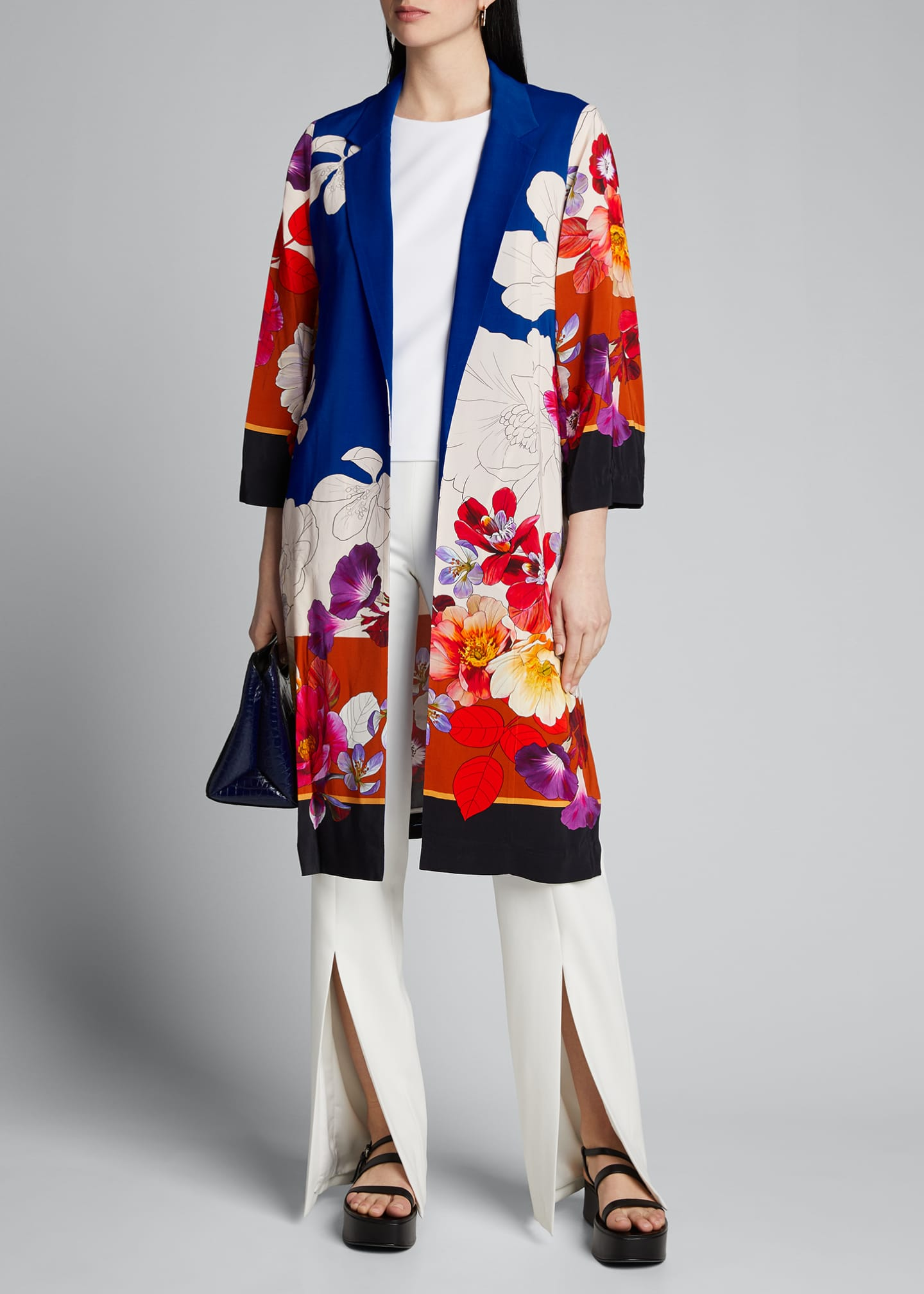 Image 1 of 5: Estee Floral Print Topper Jacket