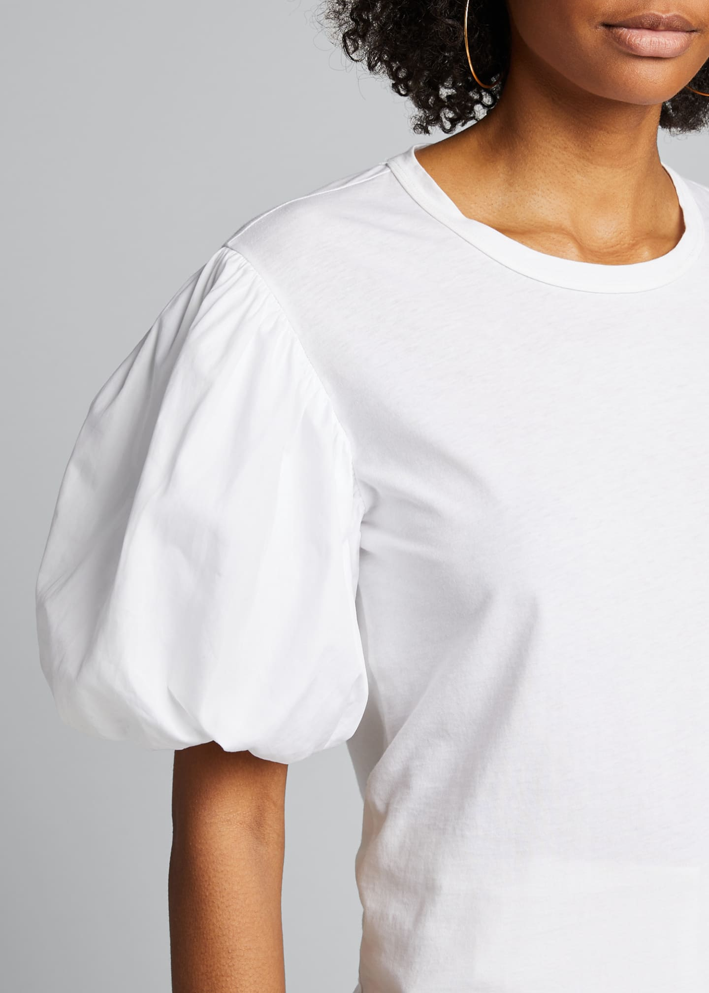 Image 4 of 5: Cassandra Puff-Sleeve Tee