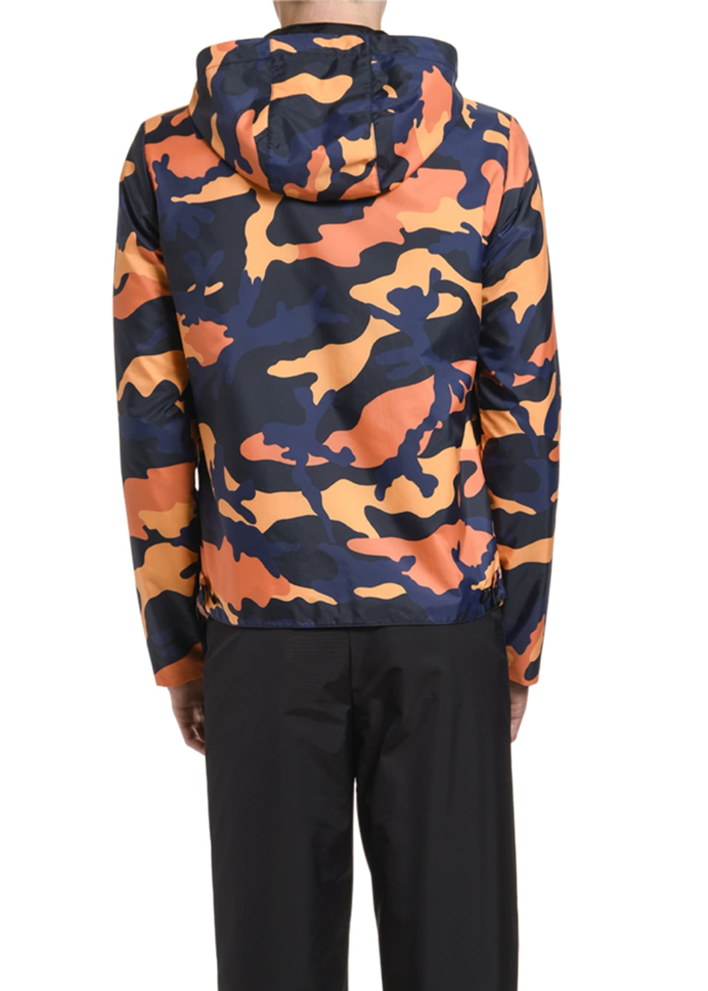 Image 2 of 2: Men's Camo Wind-Resistant Jacket