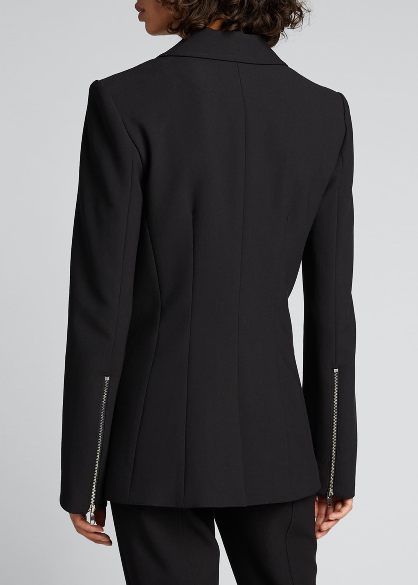 Image 2 of 5: Kym Single-Button Blazer