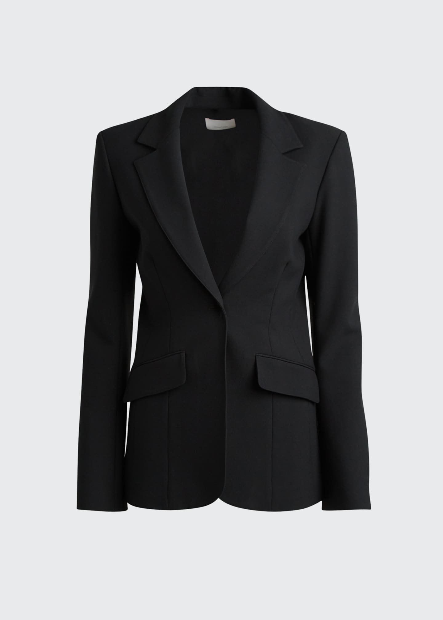 Image 5 of 5: Kym Single-Button Blazer