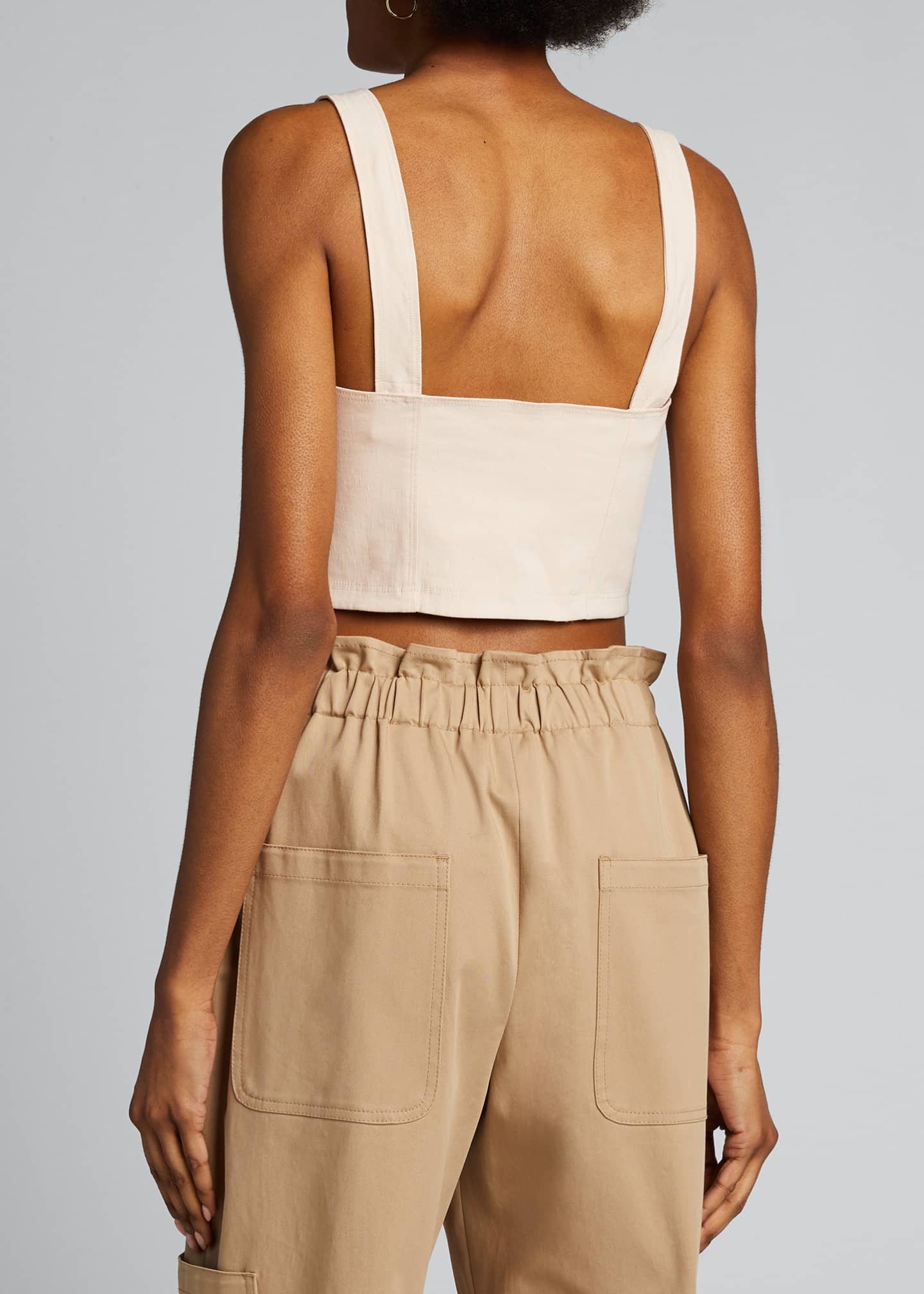 Image 2 of 5: Alessandra Cropped Bustier Top