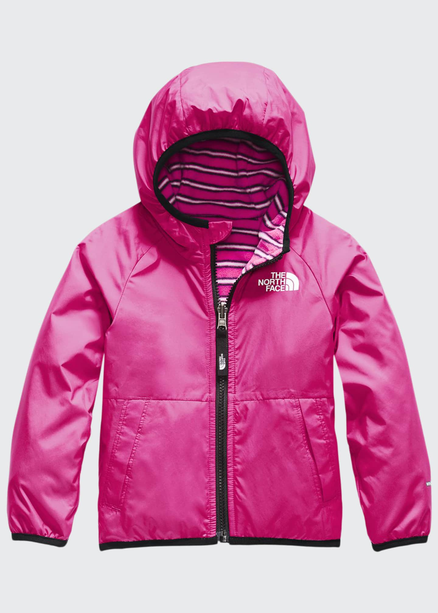 Image 1 of 3: Girl's Breezeway Reversible Wind Jacket, Size 2-4T