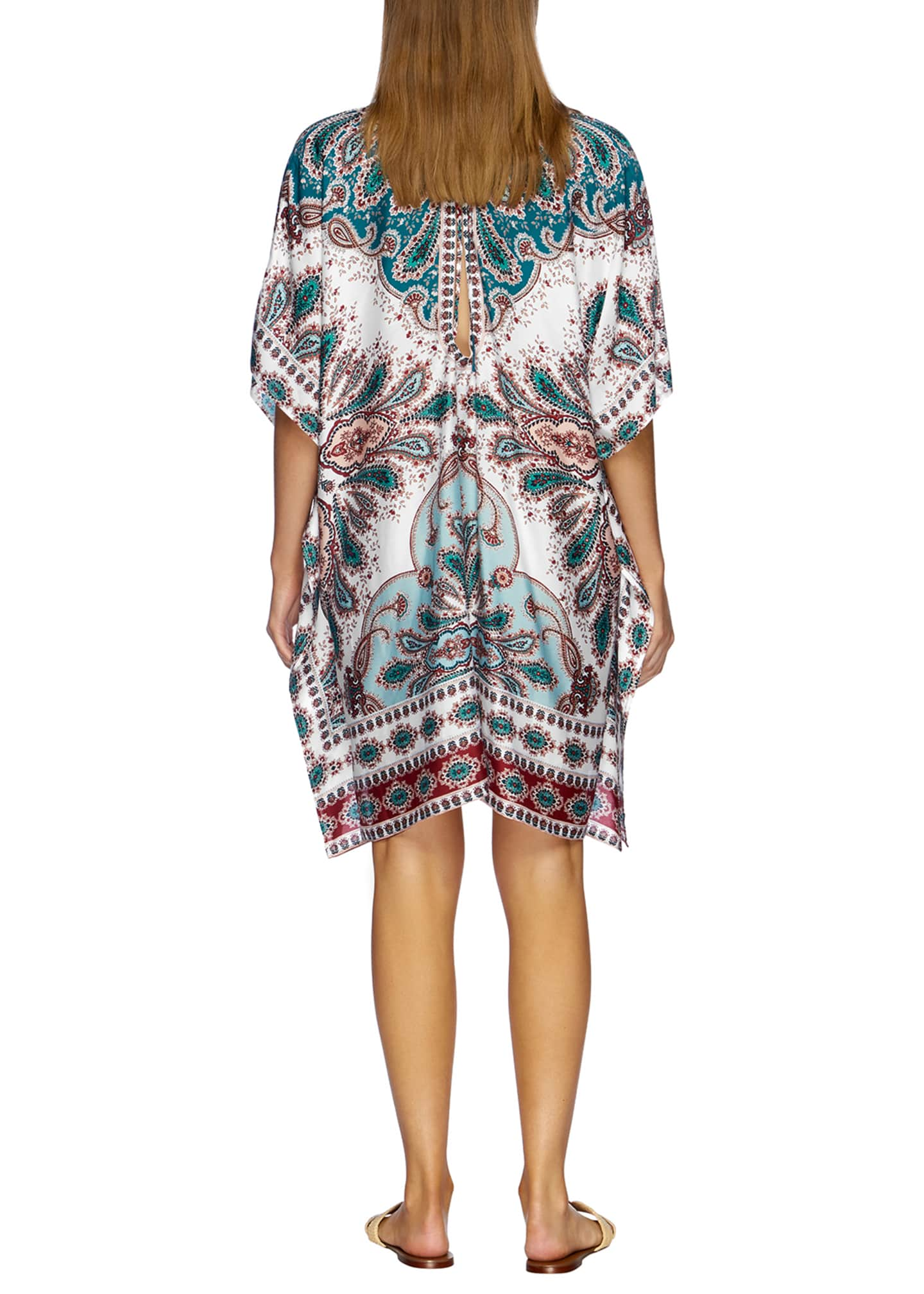 Image 3 of 3: Reverie Printed Kaftan