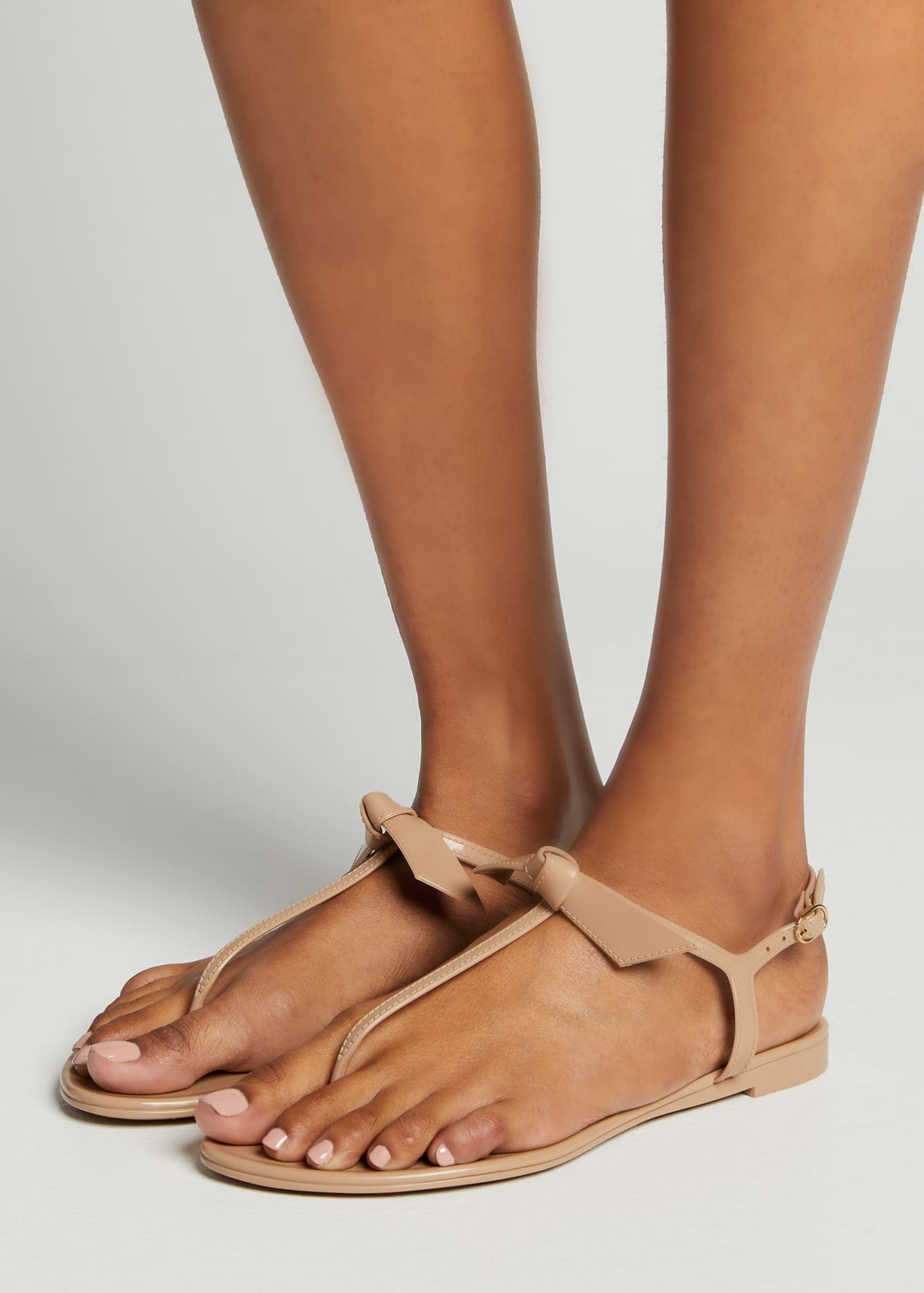 Image 2 of 5: Clarita Jelly Knot Thong Sandals