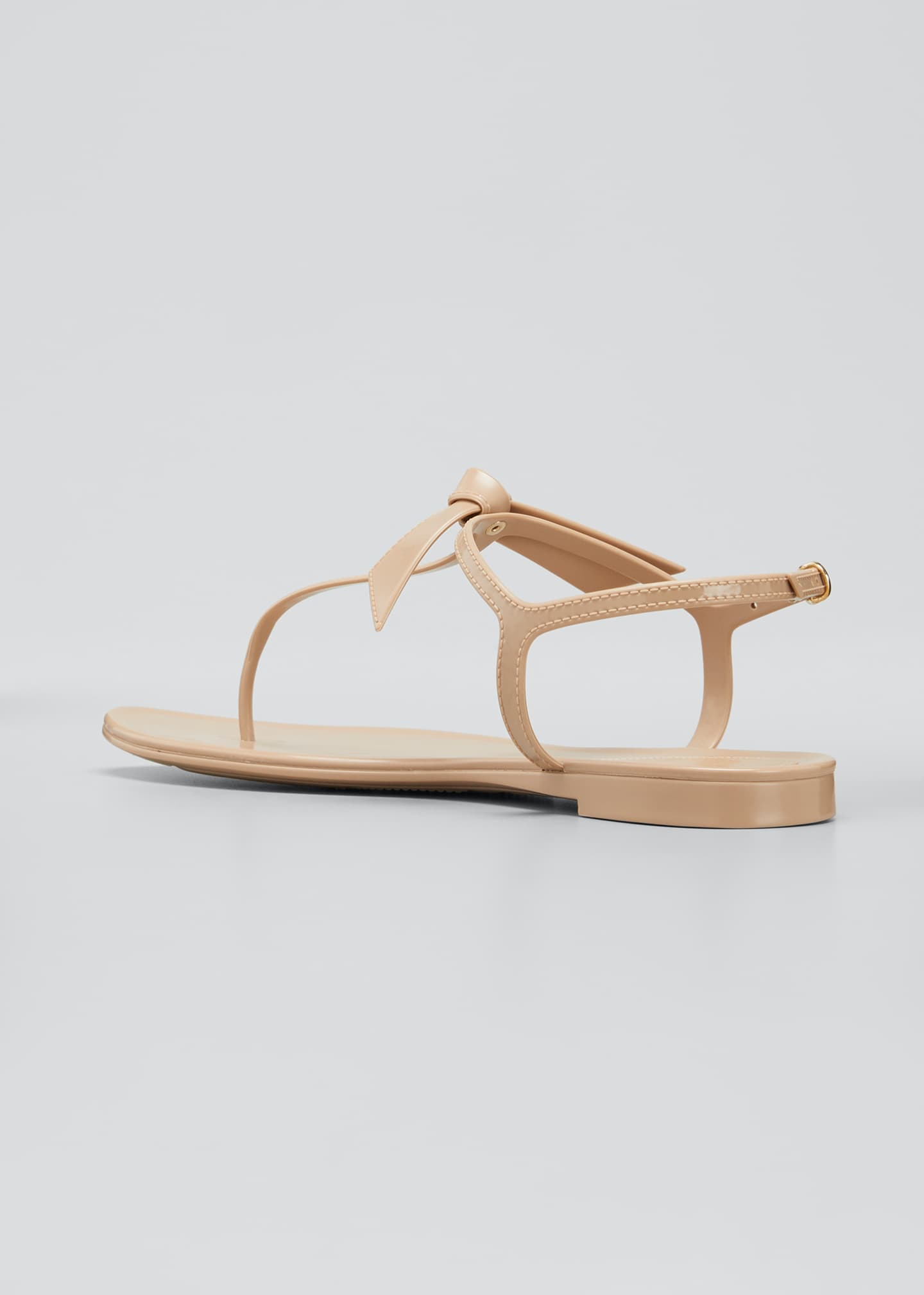 Image 4 of 5: Clarita Jelly Knot Thong Sandals