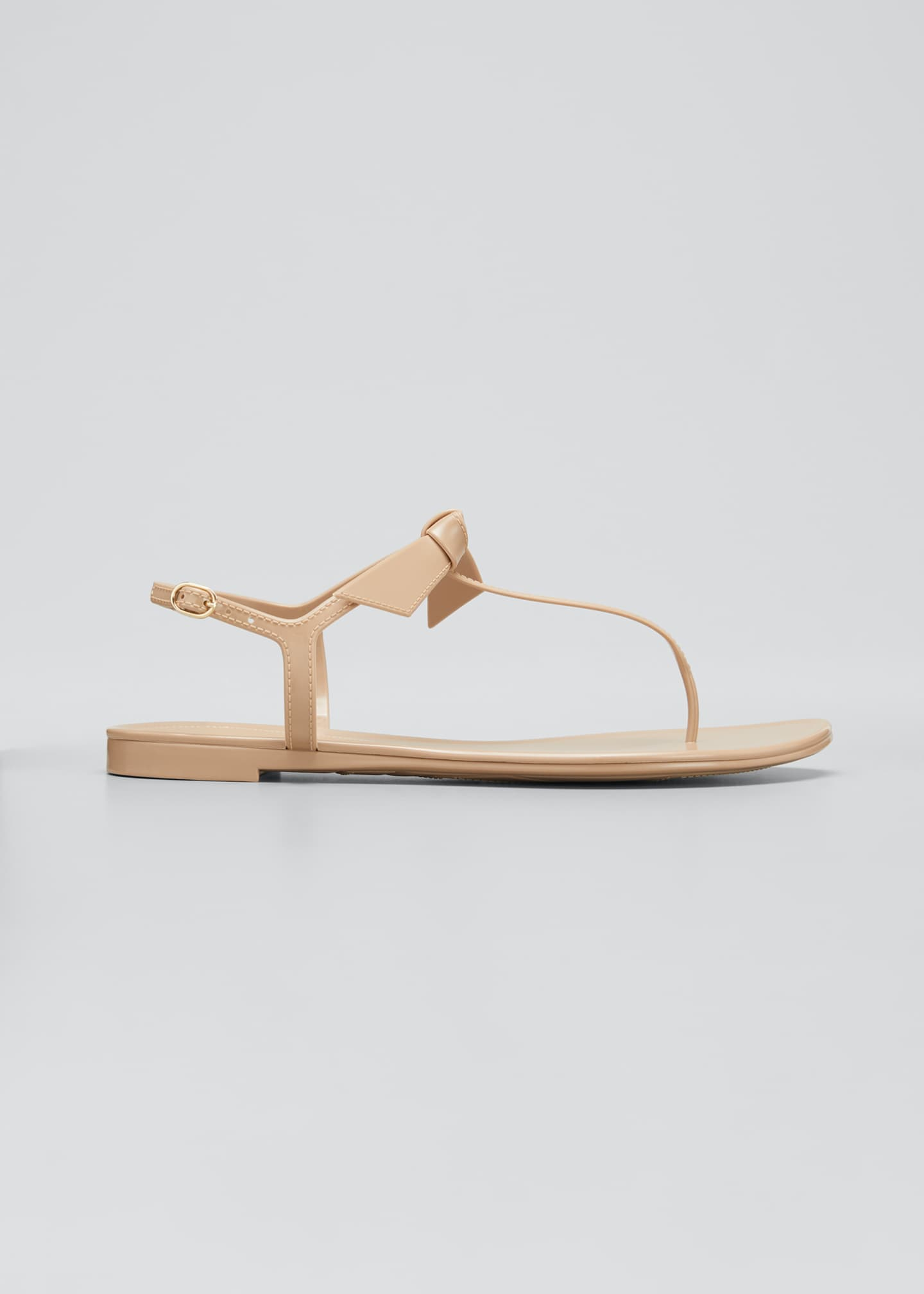 Image 1 of 5: Clarita Jelly Knot Thong Sandals