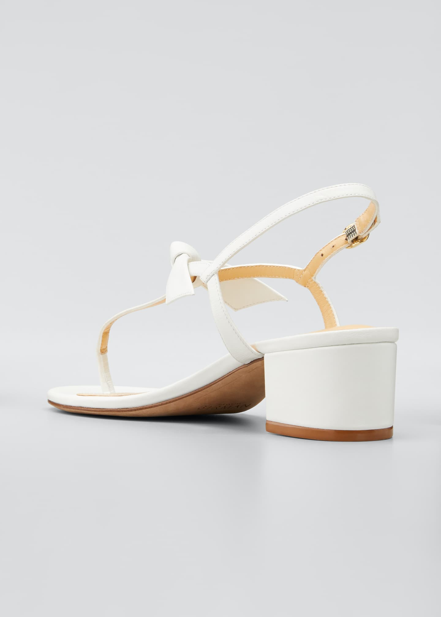 Image 2 of 3: Clarita T-Strap Knotted 45mm Sandals