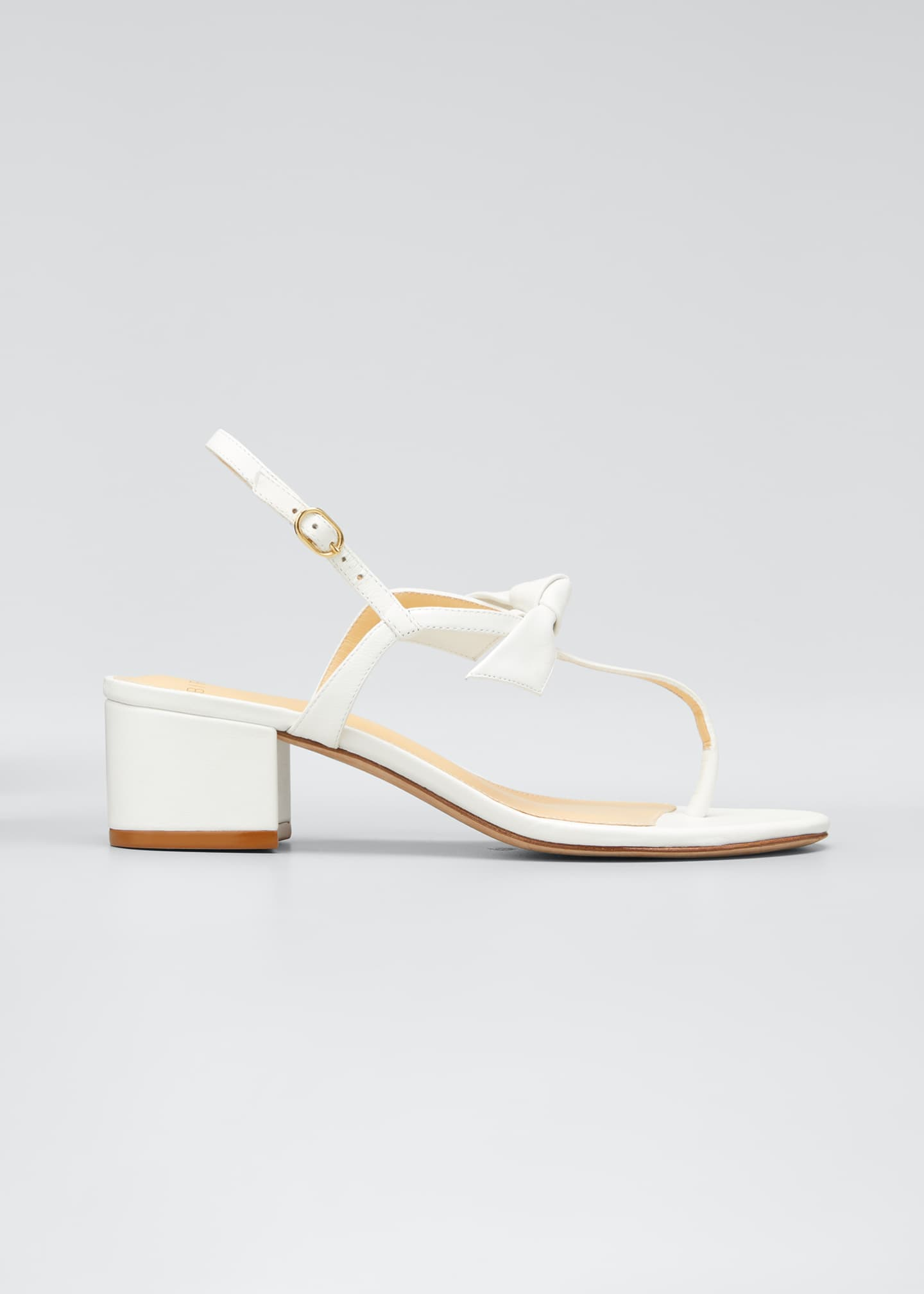 Image 1 of 3: Clarita T-Strap Knotted 45mm Sandals