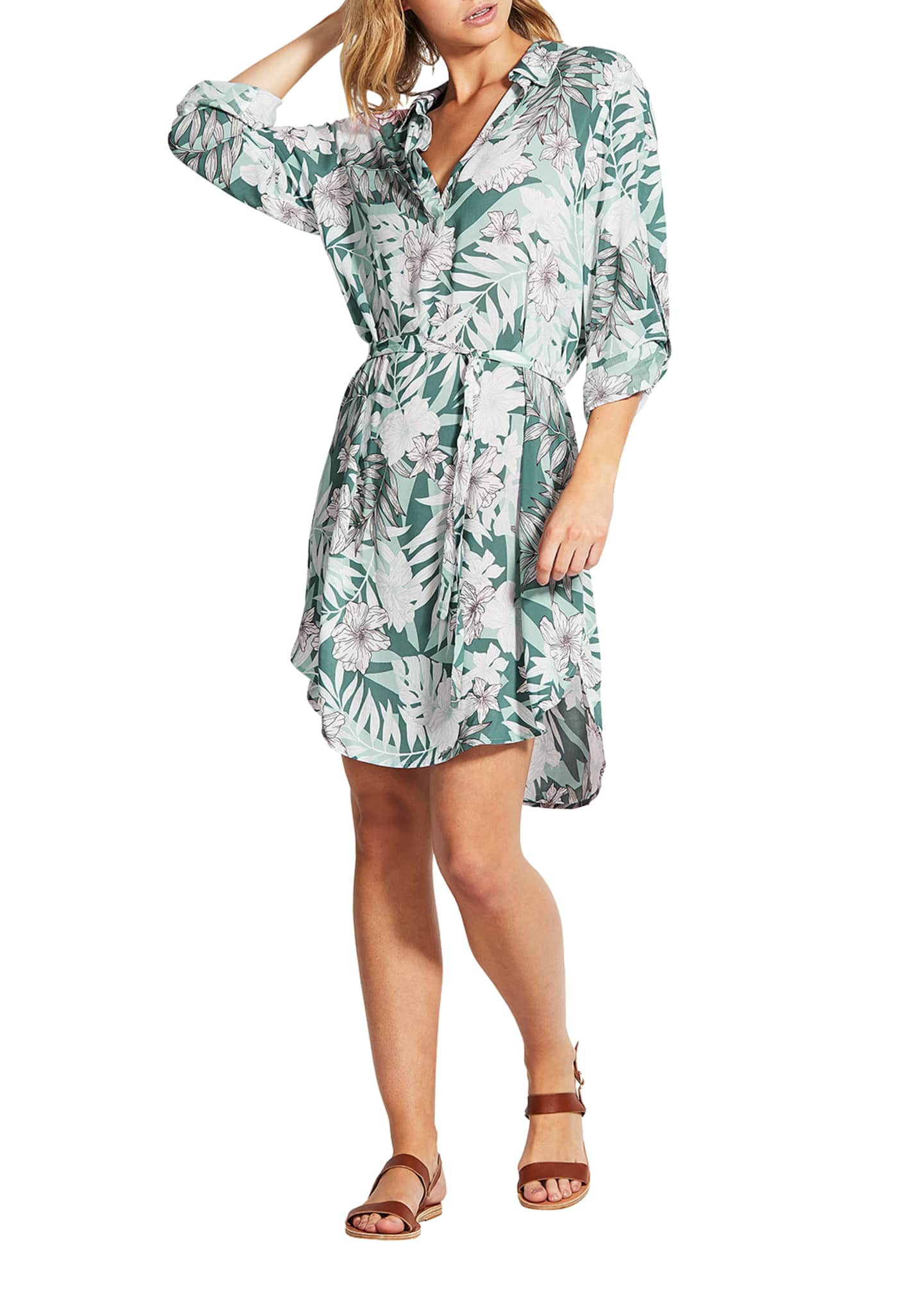 Image 2 of 3: Copacabana Shirt Dress
