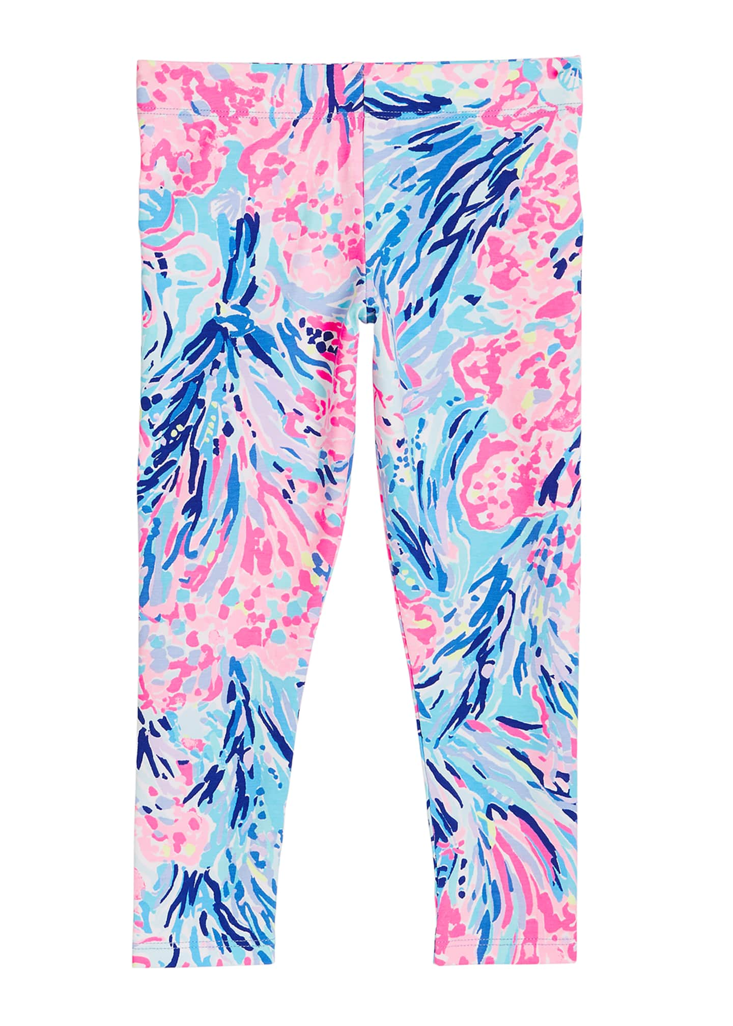 Lilly Pulitzer Girl's Maia Printed Leggings, Size XS-XL