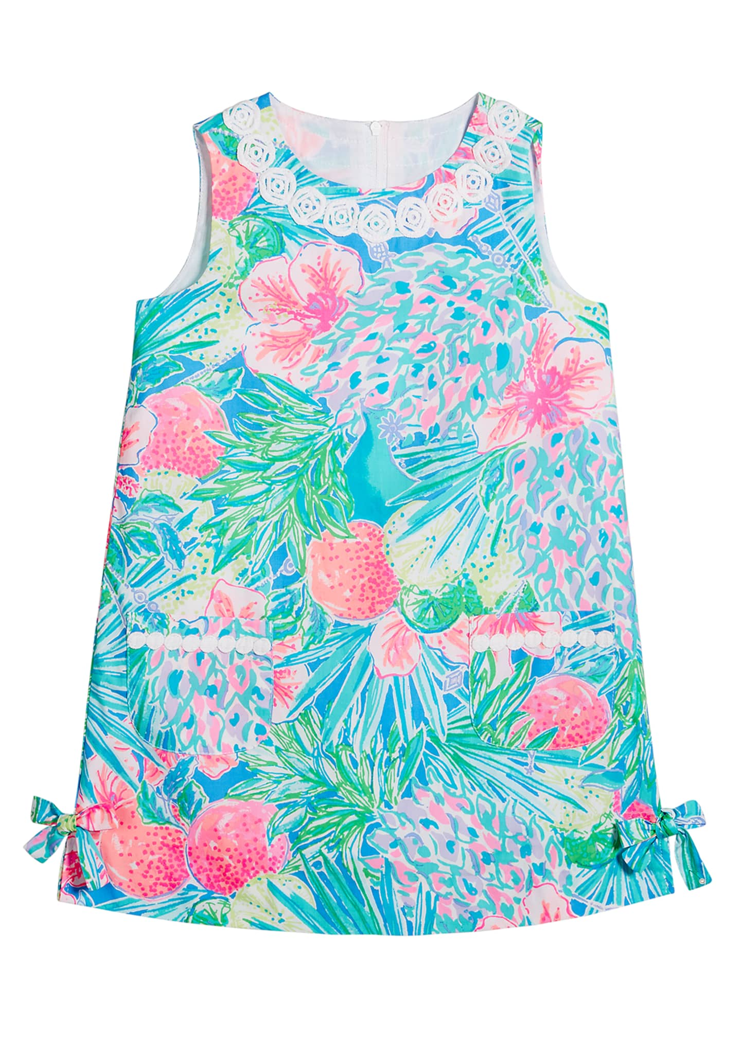 Lilly Pulitzer Girl's Little Lilly Sleeveless Shift Dress,