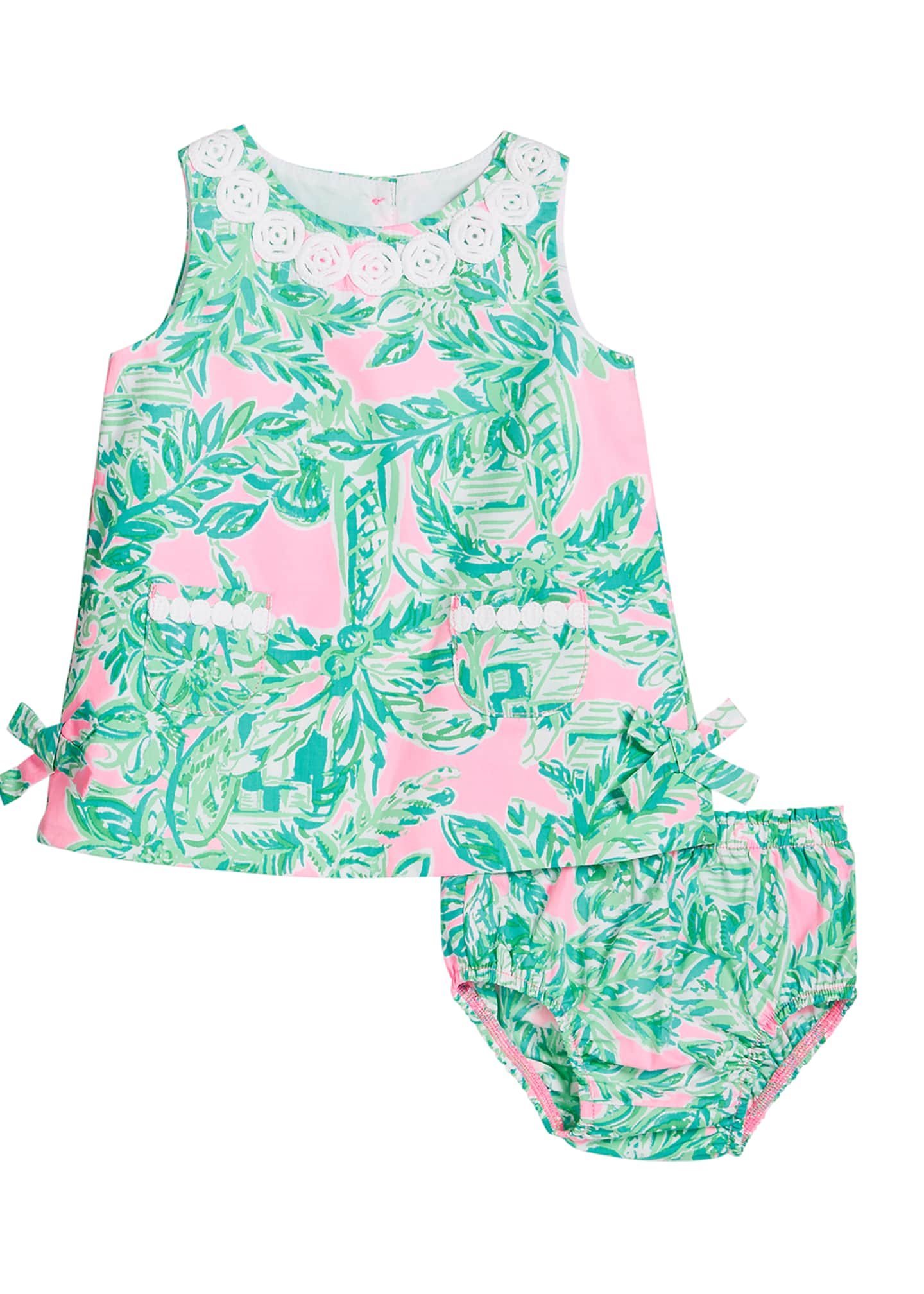 Lilly Pulitzer Girl's Lilly Printed Shift Dress w/