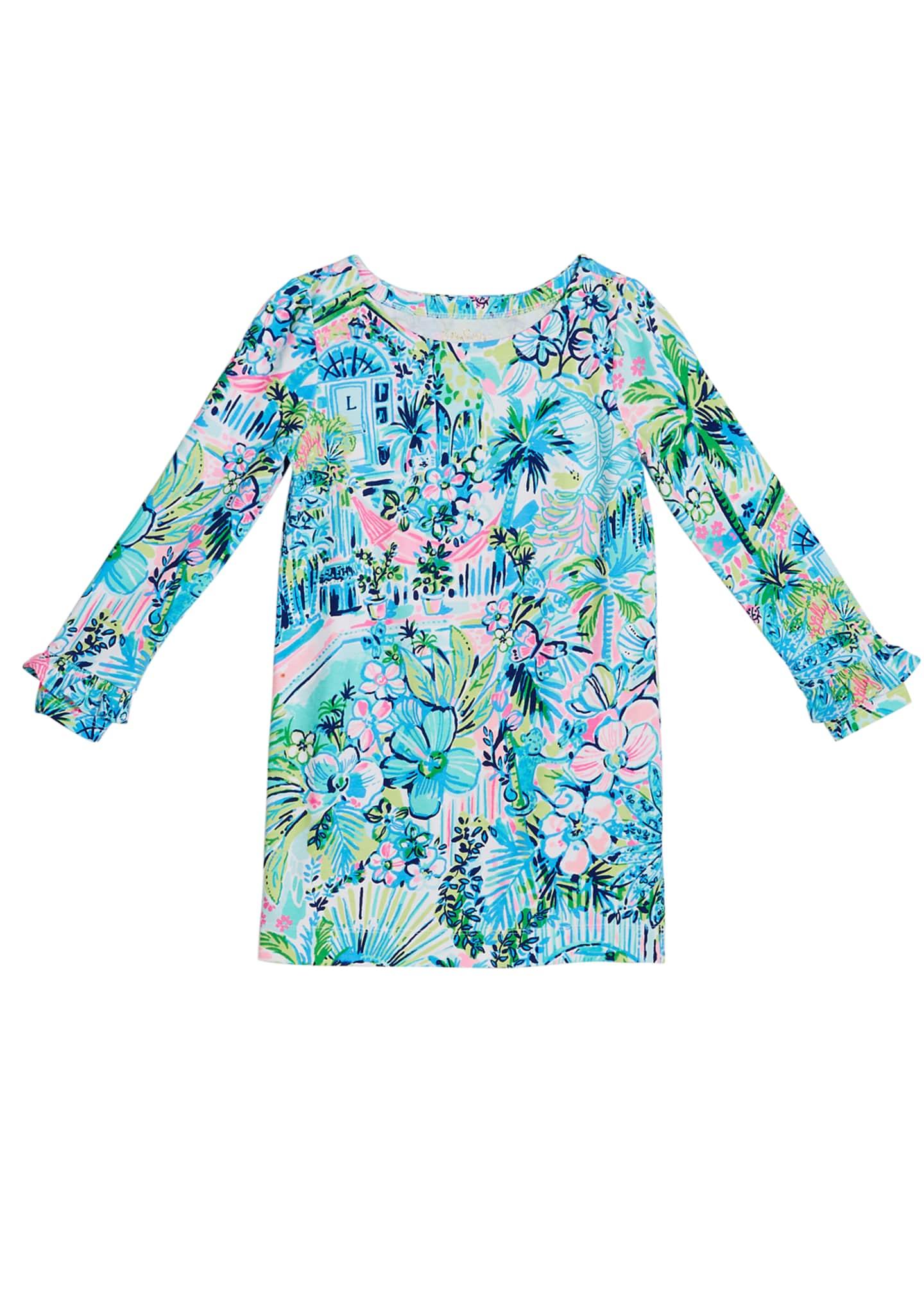 Lilly Pulitzer Mini Sophie UPF 50+ Ruffle Dress,