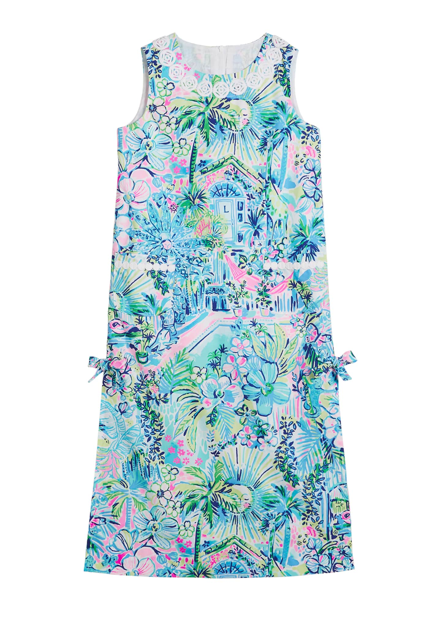 Lilly Pulitzer Little Lilly Classic Maxi Dress, Size