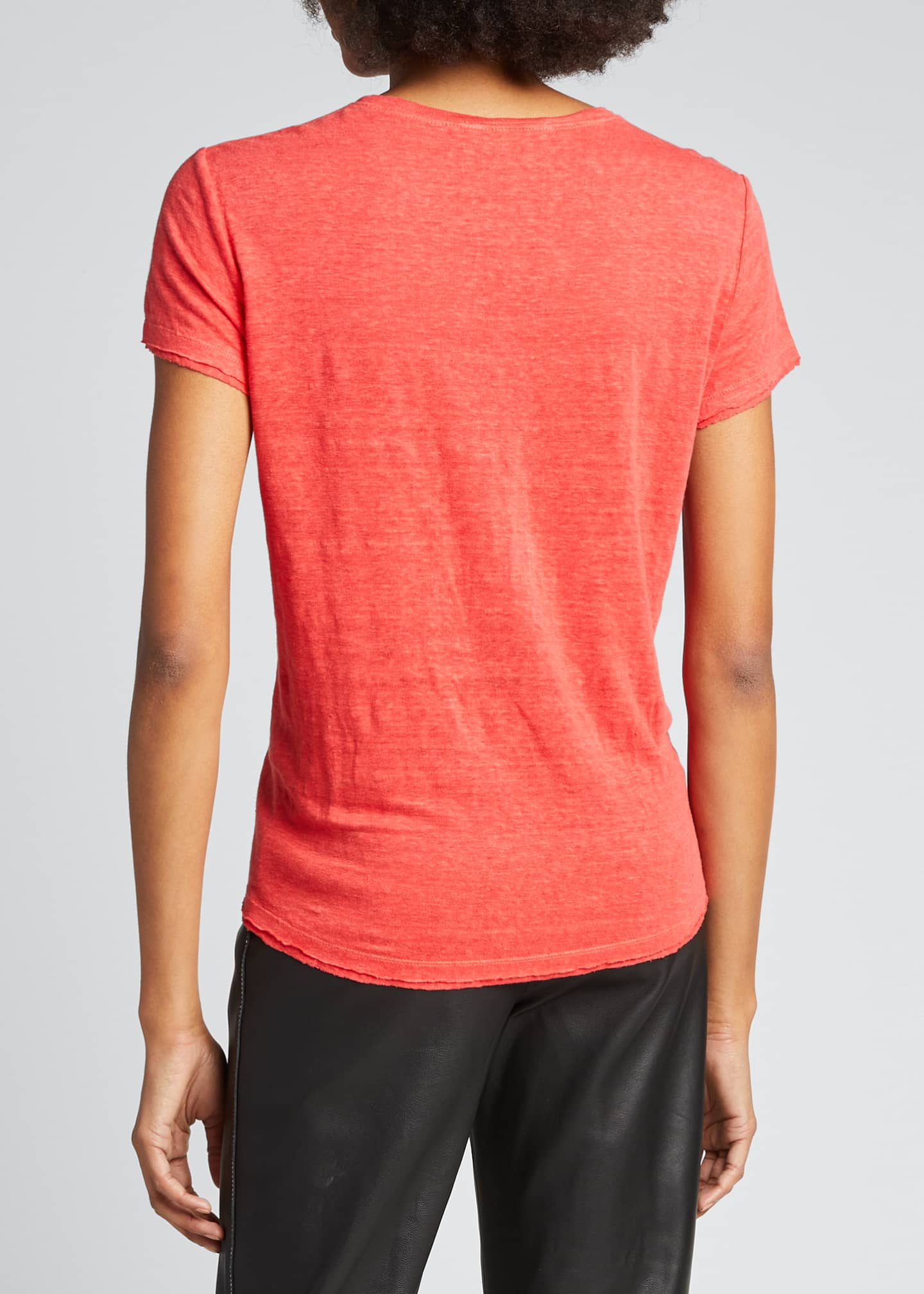 Image 2 of 5: Easy True Organic Linen Tee