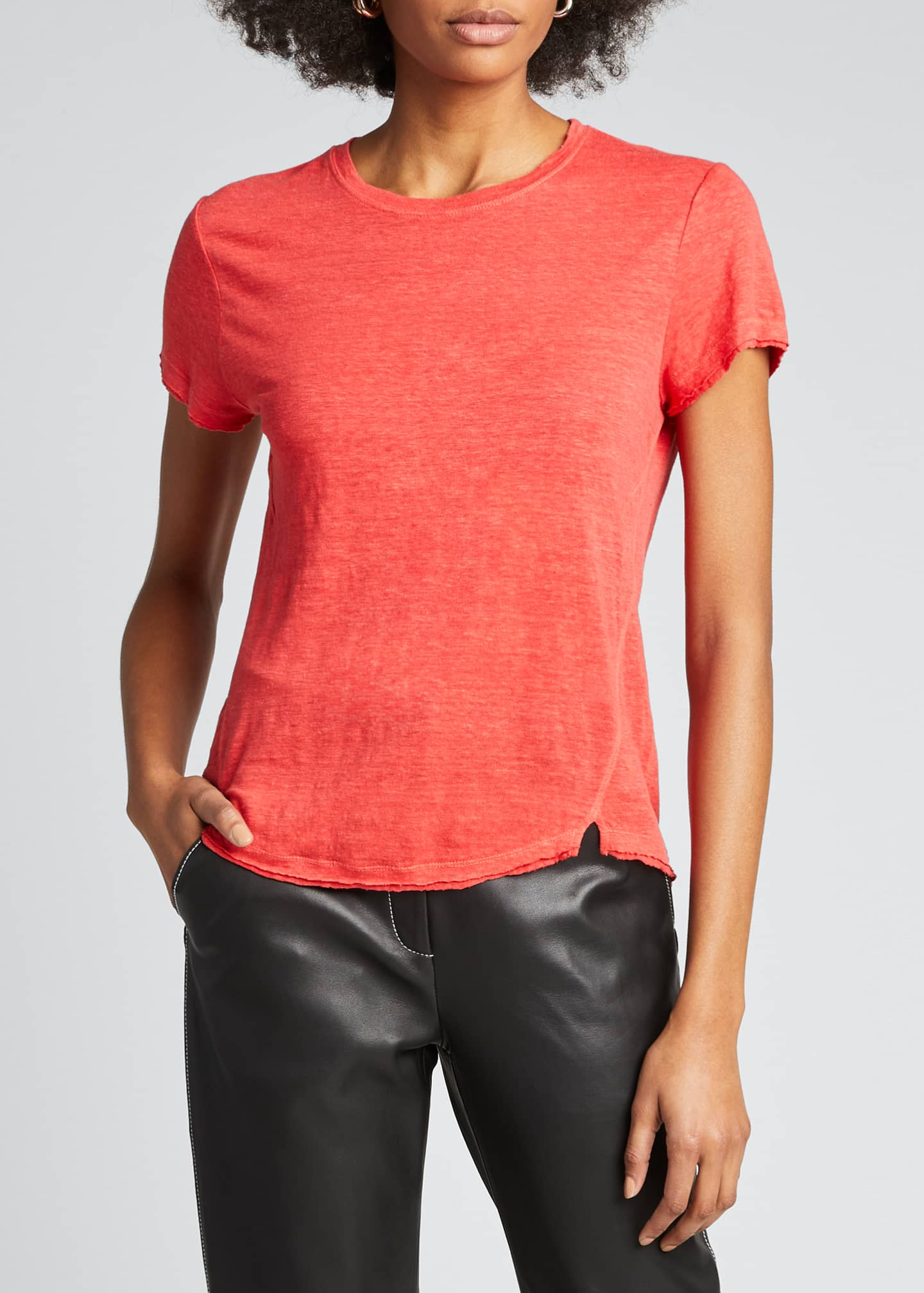Image 3 of 5: Easy True Organic Linen Tee