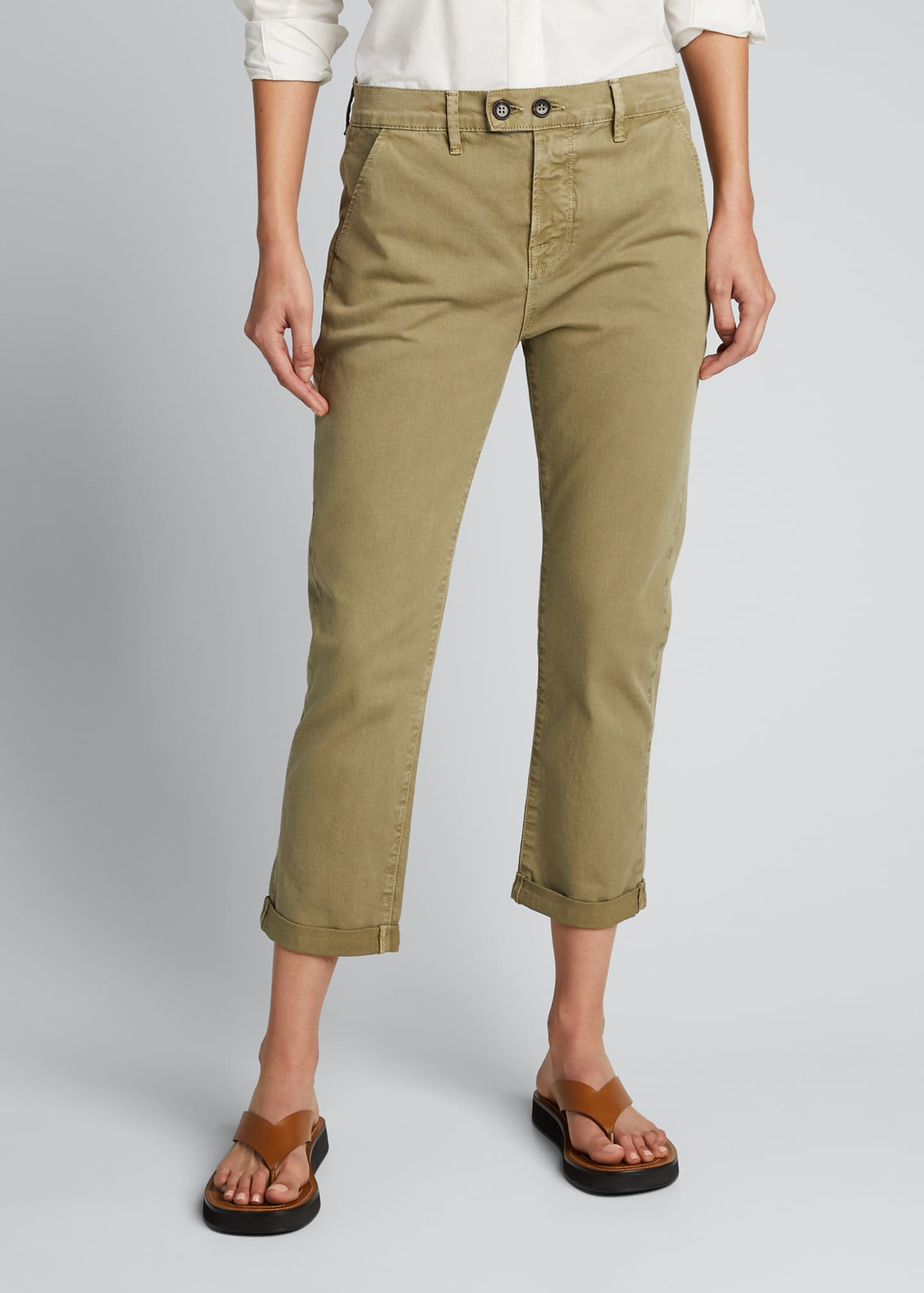 Image 3 of 5: Le Beau Cropped Chino