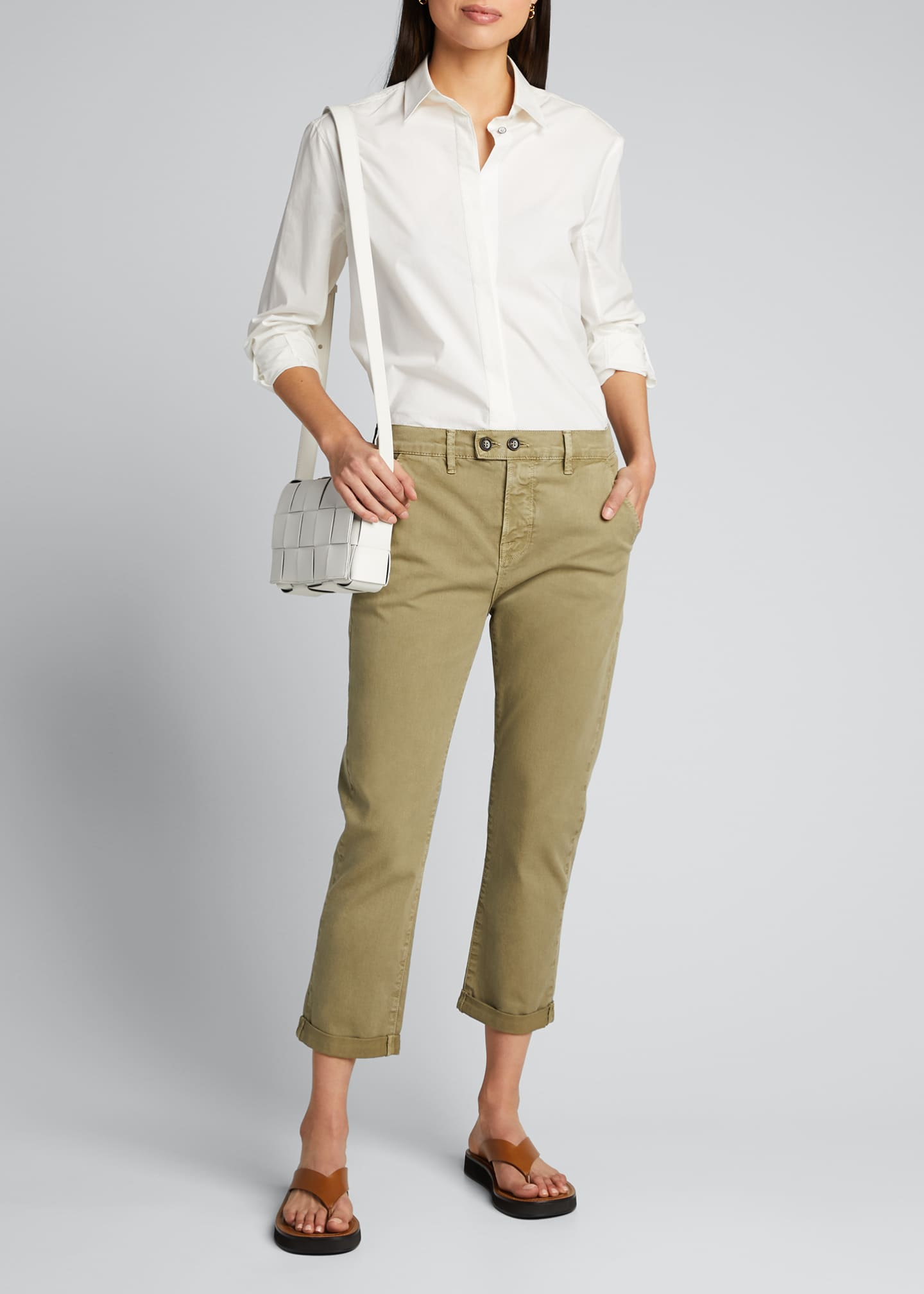 Image 1 of 5: Le Beau Cropped Chino