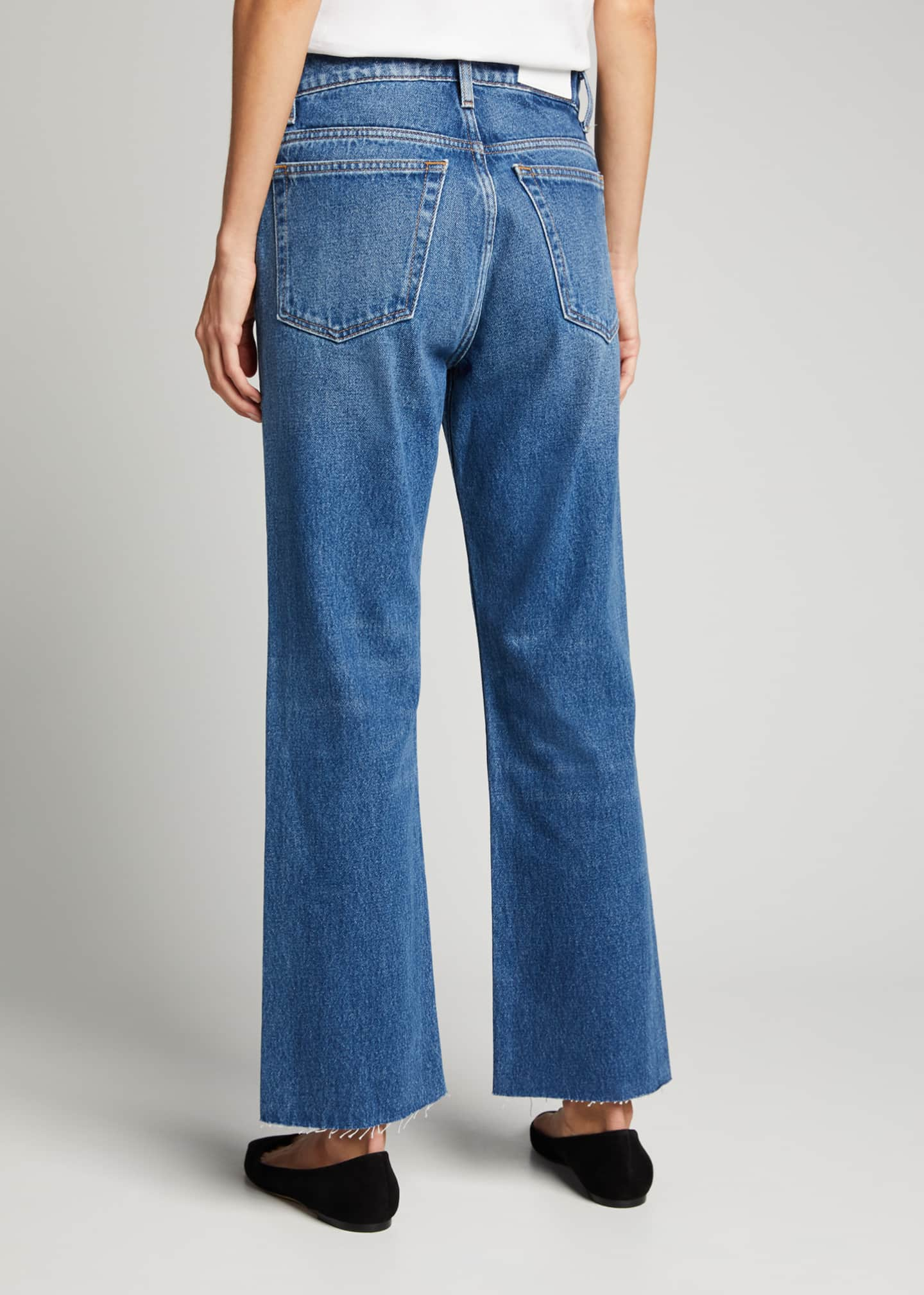 Image 2 of 5: 70s Crop Boot-Cut Jeans