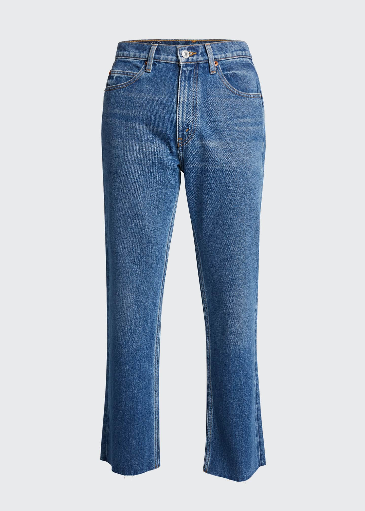Image 5 of 5: 70s Crop Boot-Cut Jeans