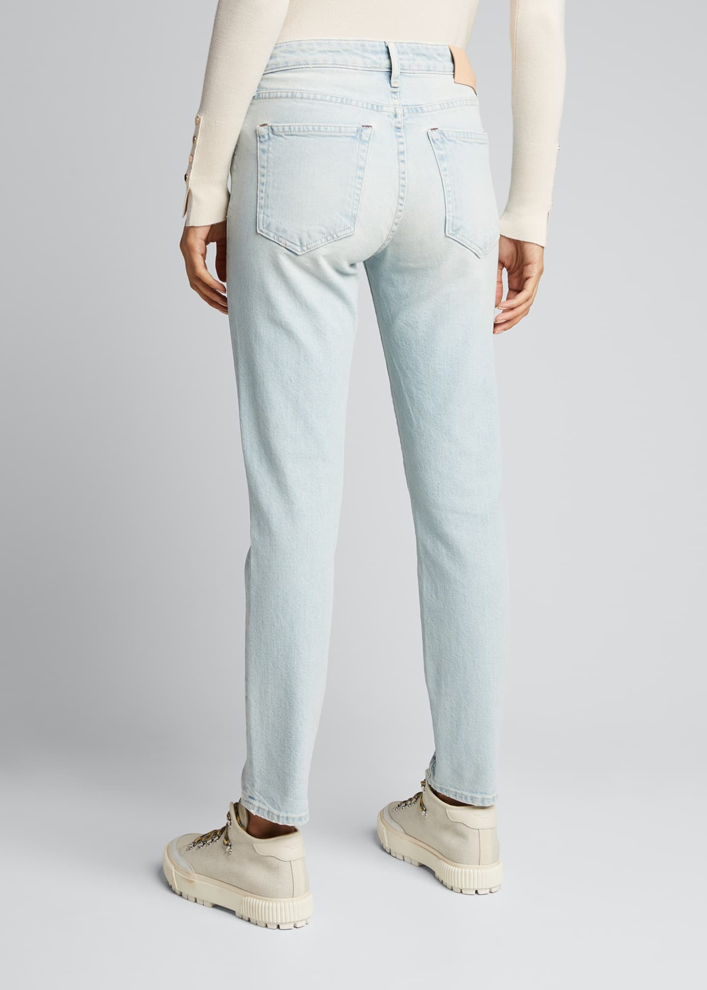 Image 2 of 5: Sophie Low-Rise Slim Cropped Jeans