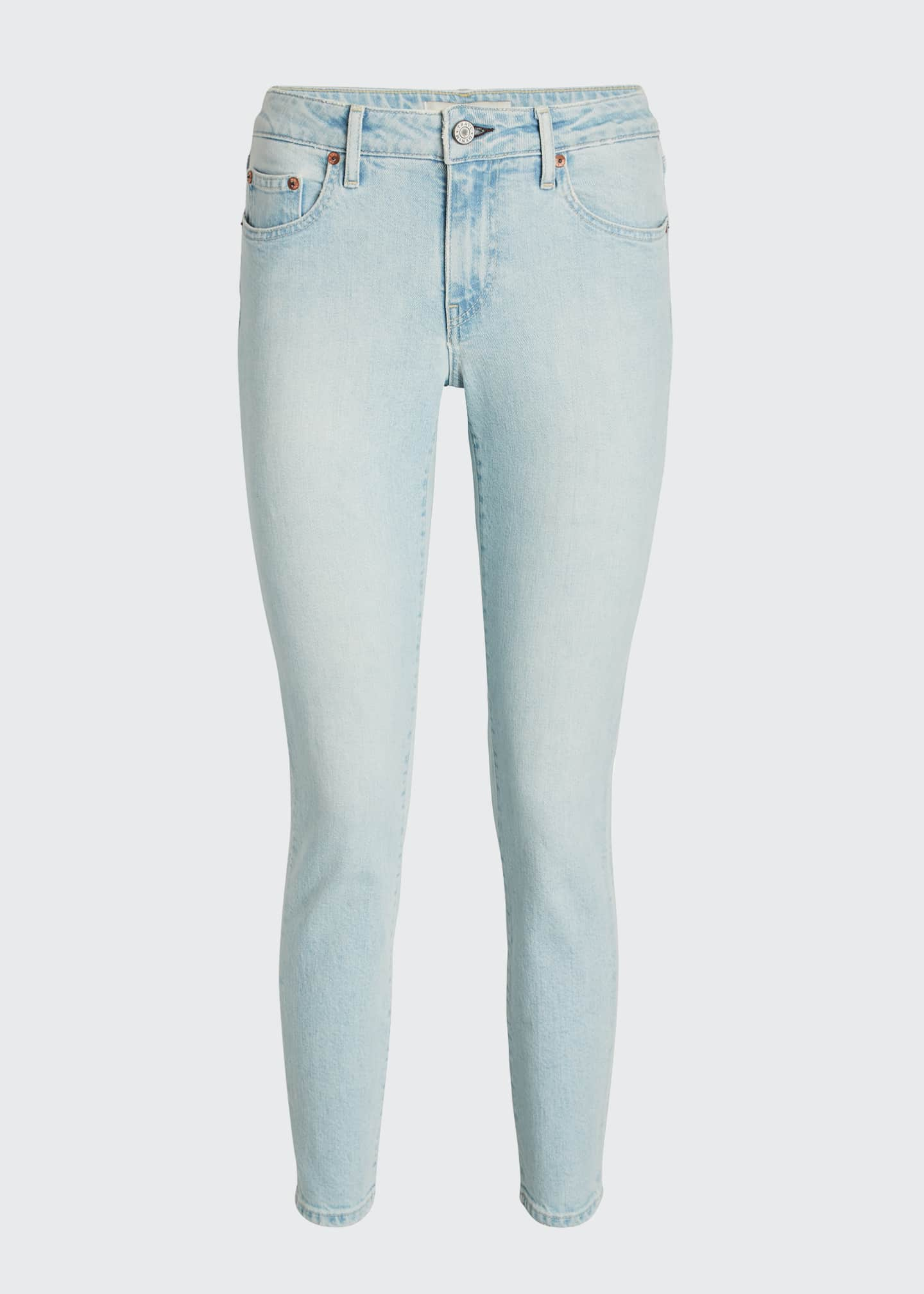 Image 5 of 5: Sophie Low-Rise Slim Cropped Jeans