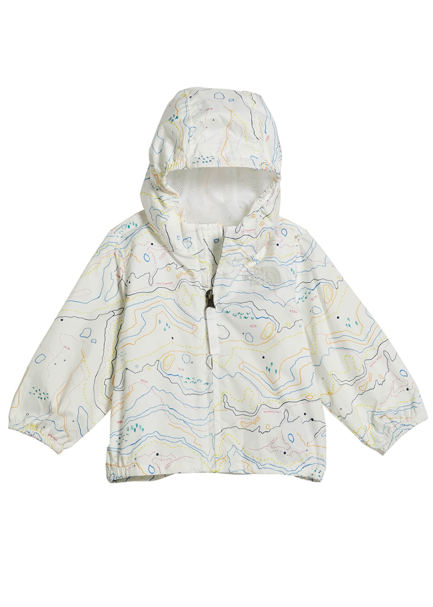 Image 1 of 1: Girl's Flurry Wind-Resistant Hooded Jacket, Size 6-24 Months