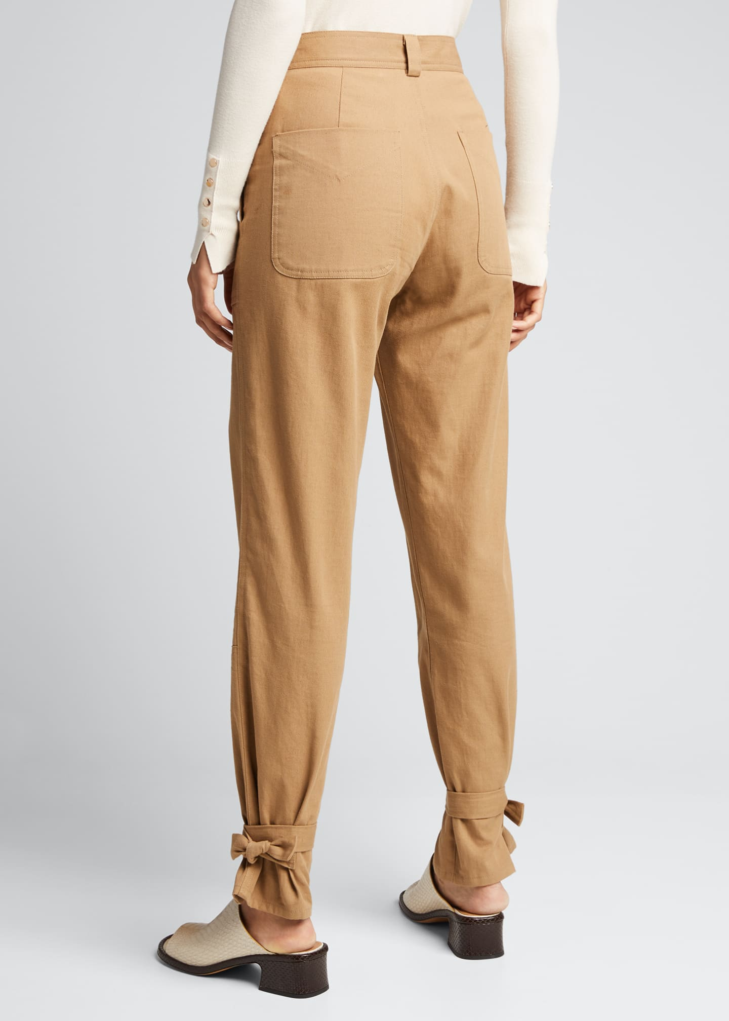 Image 2 of 5: Darcy Cinched Ankle Trousers