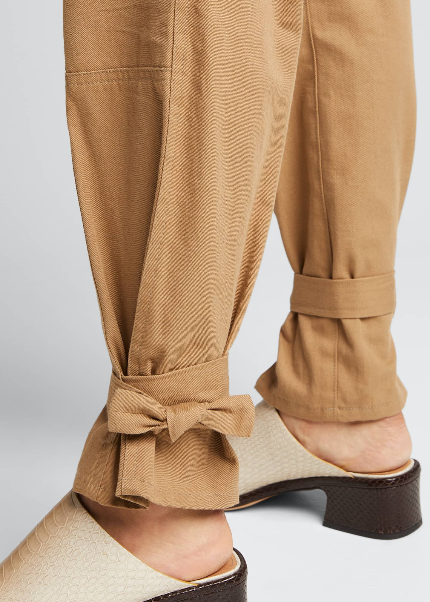 Image 4 of 5: Darcy Cinched Ankle Trousers