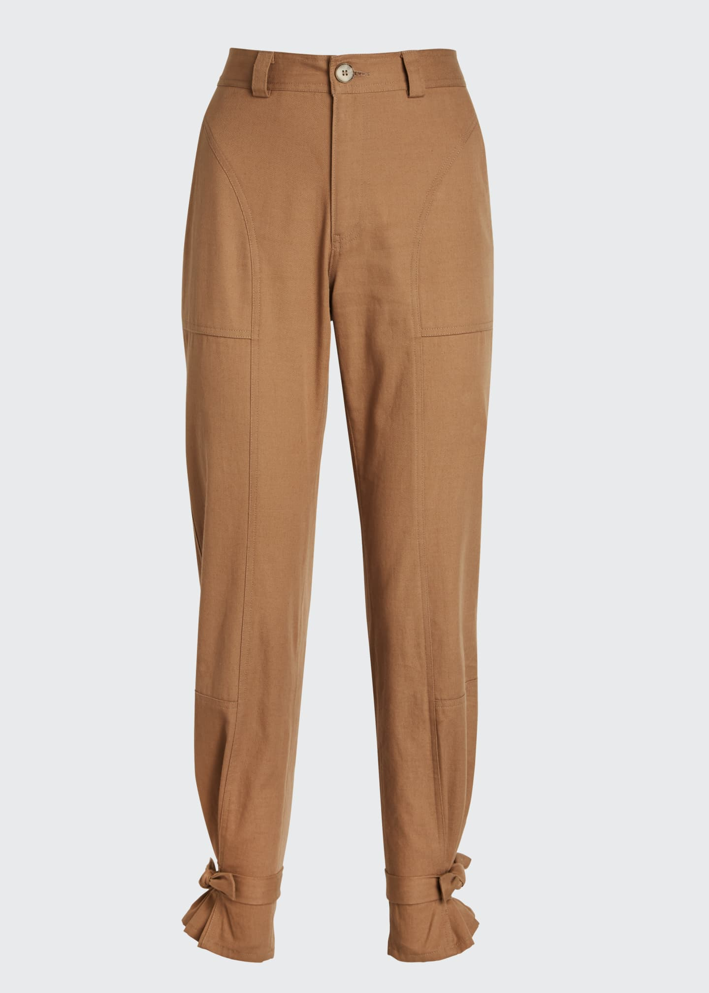 Image 5 of 5: Darcy Cinched Ankle Trousers
