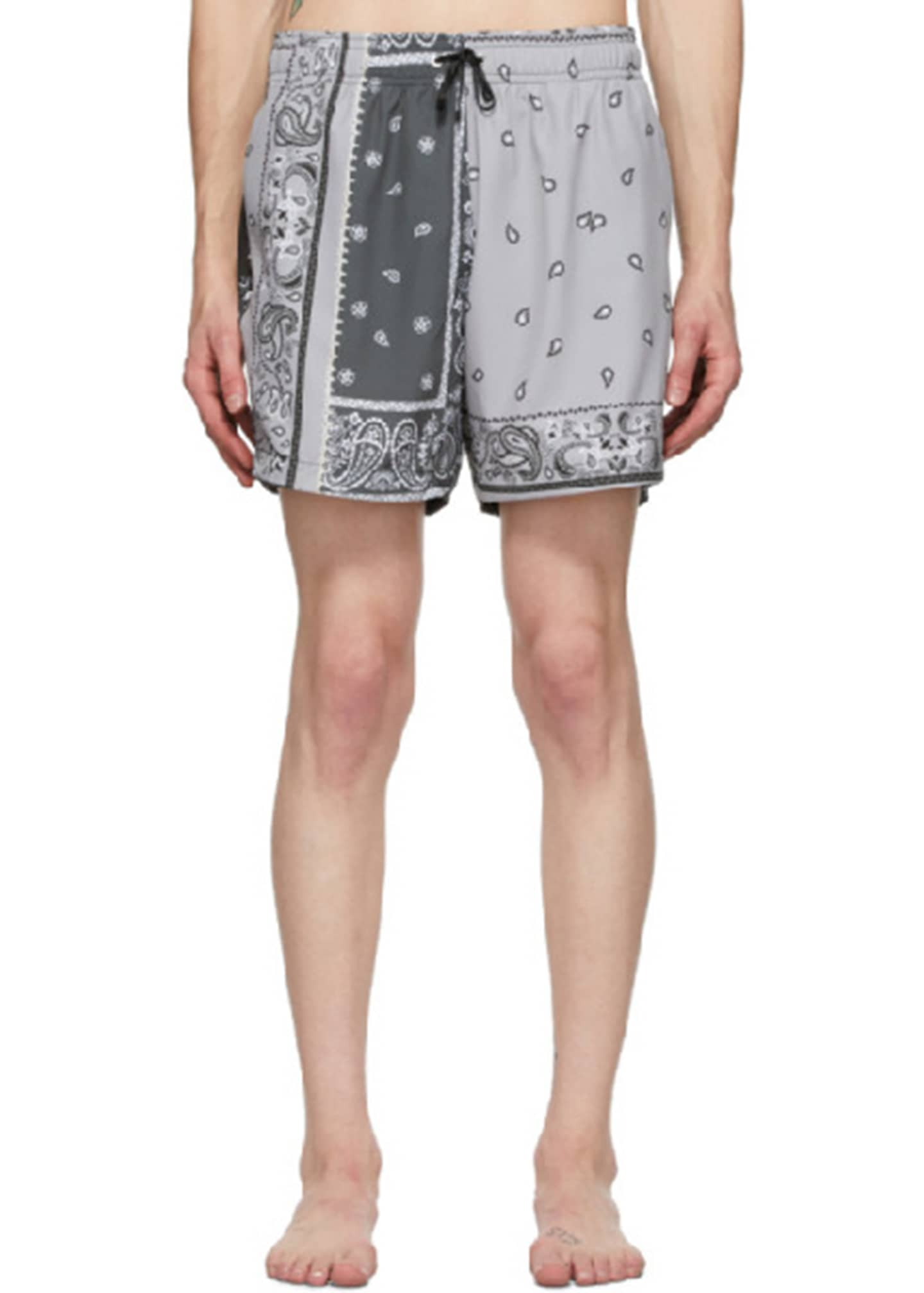 Image 1 of 1: Men's Bandana Reconstructed Swim Shorts