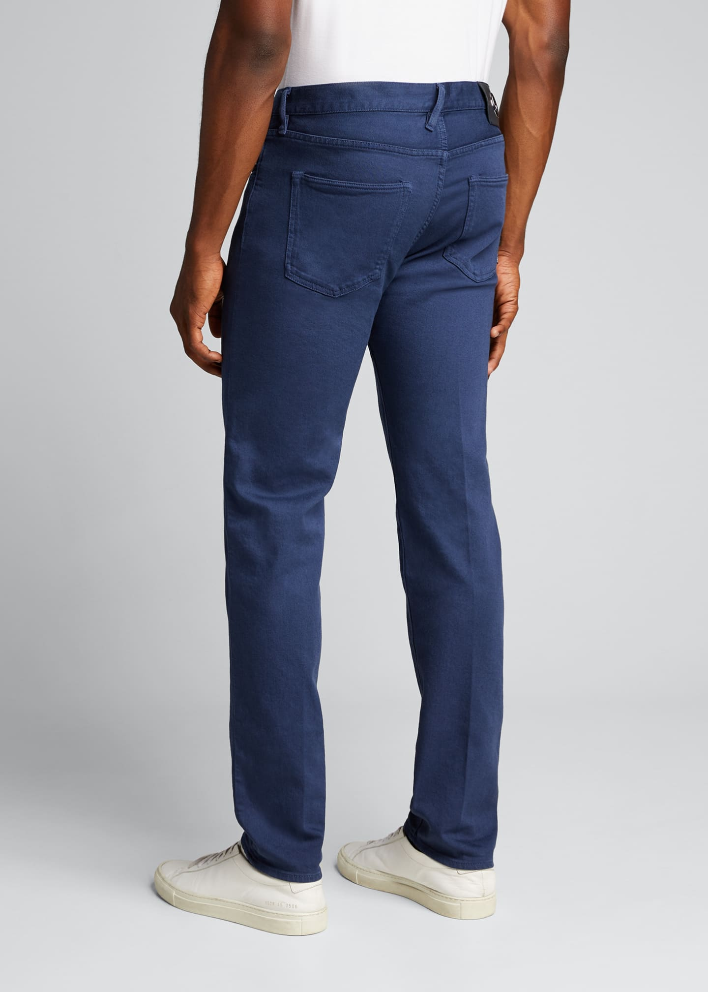 Image 2 of 5: Men's Relaxed Slim Five-Pocket Jeans