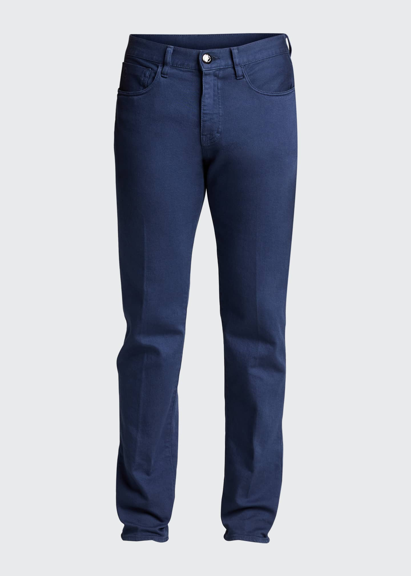 Image 5 of 5: Men's Relaxed Slim Five-Pocket Jeans