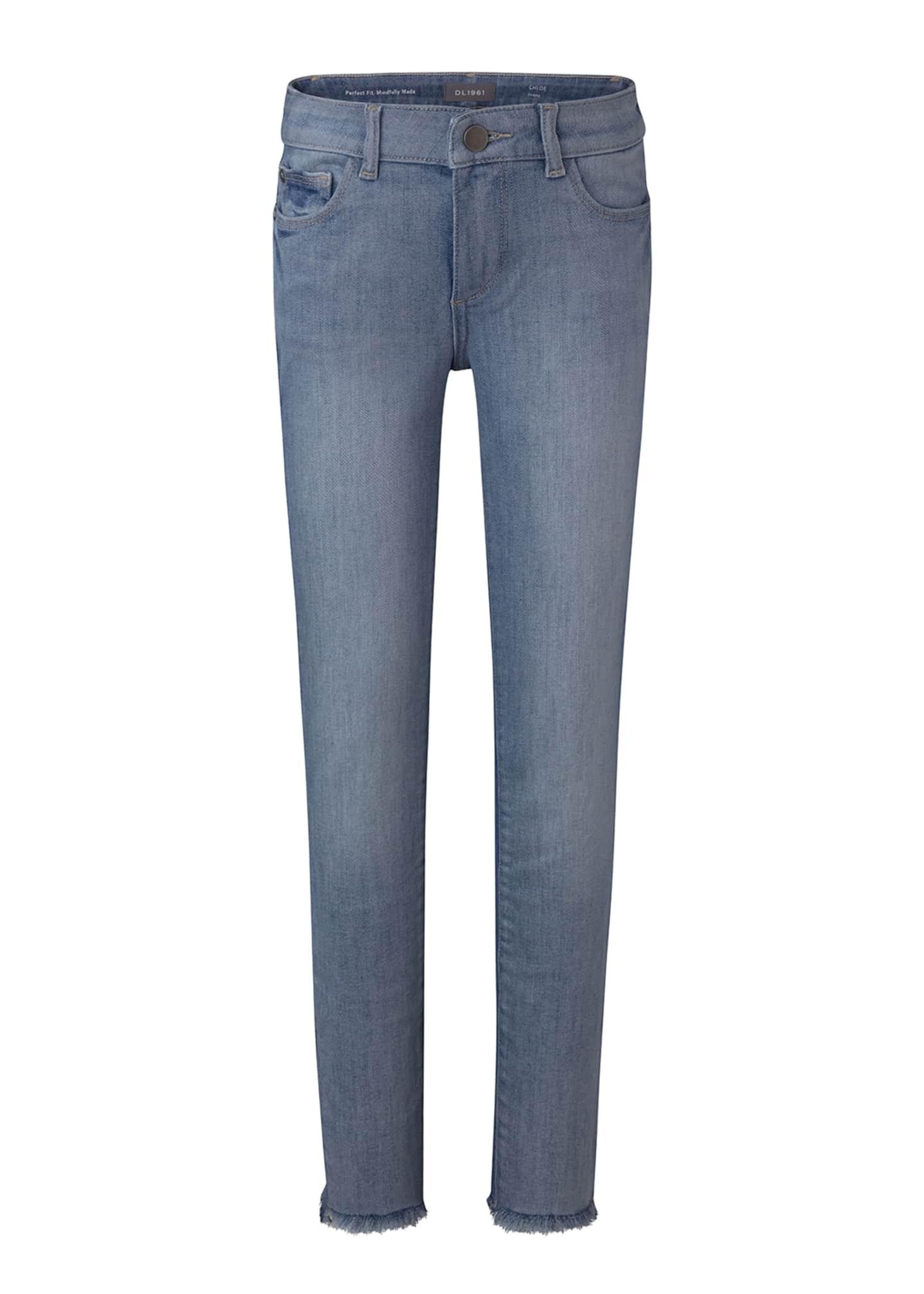 DL 1961 Girl's Chloe Niagara Skinny Denim Jeans,