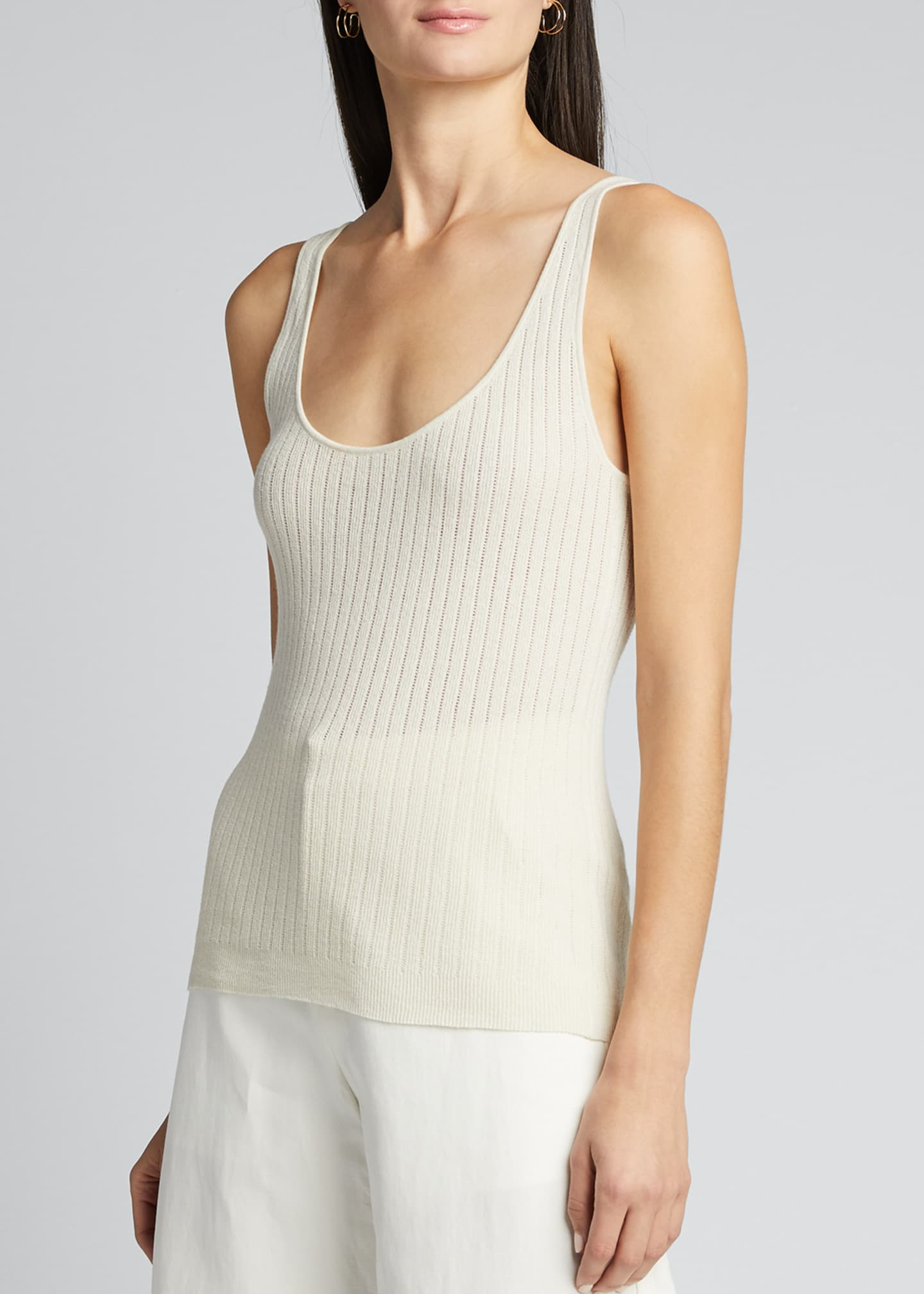 Image 3 of 5: Ribbed Knit Tank