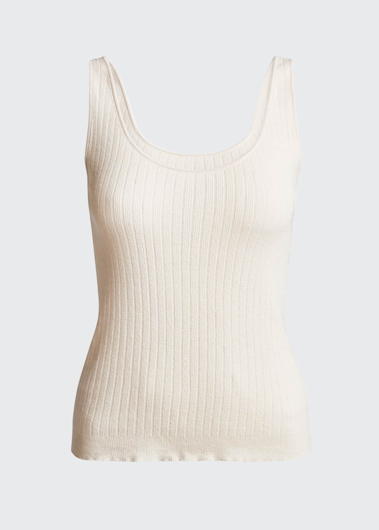 Image 5 of 5: Ribbed Knit Tank