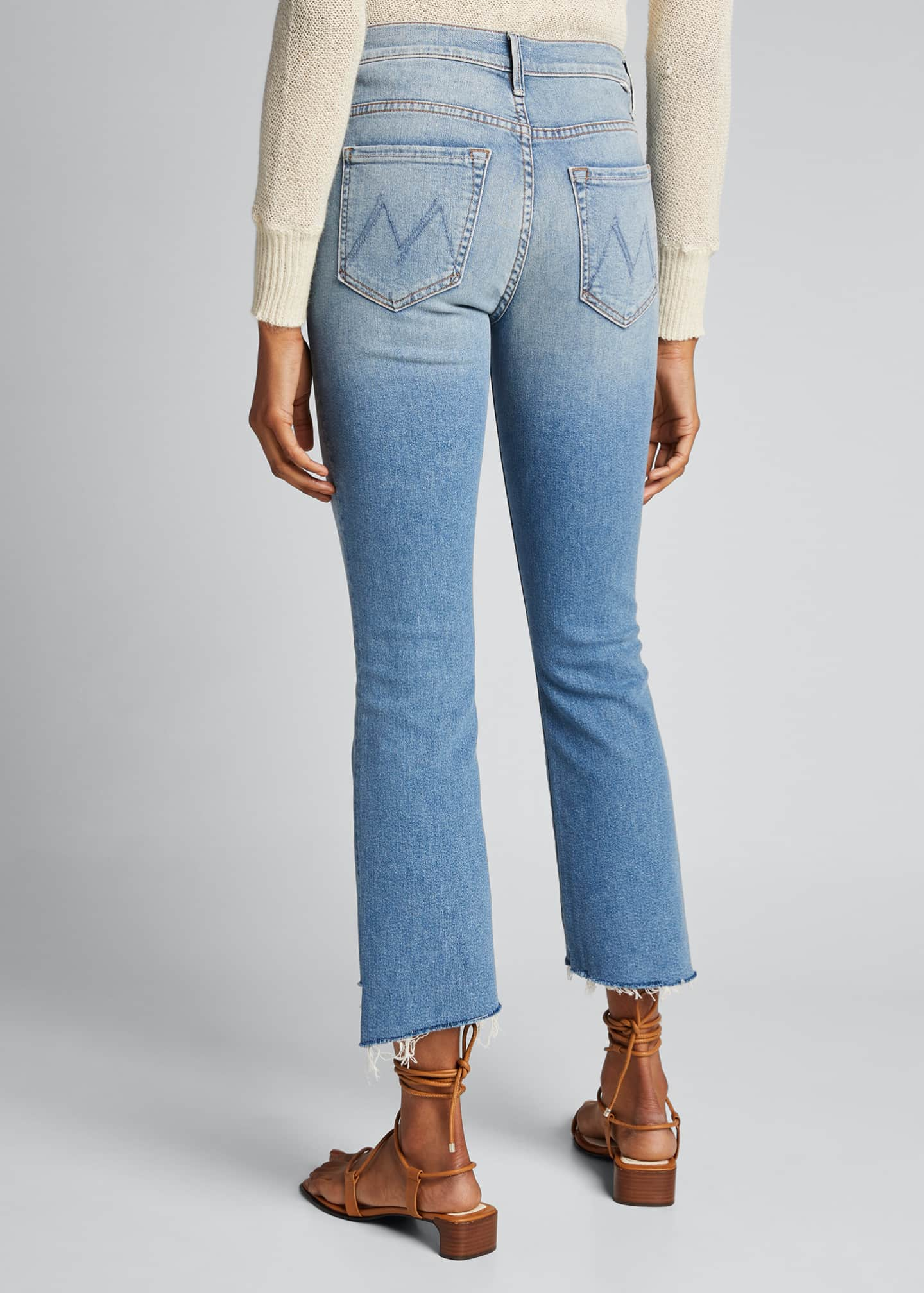 Image 2 of 5: Insider Cropped Step Fray Jeans