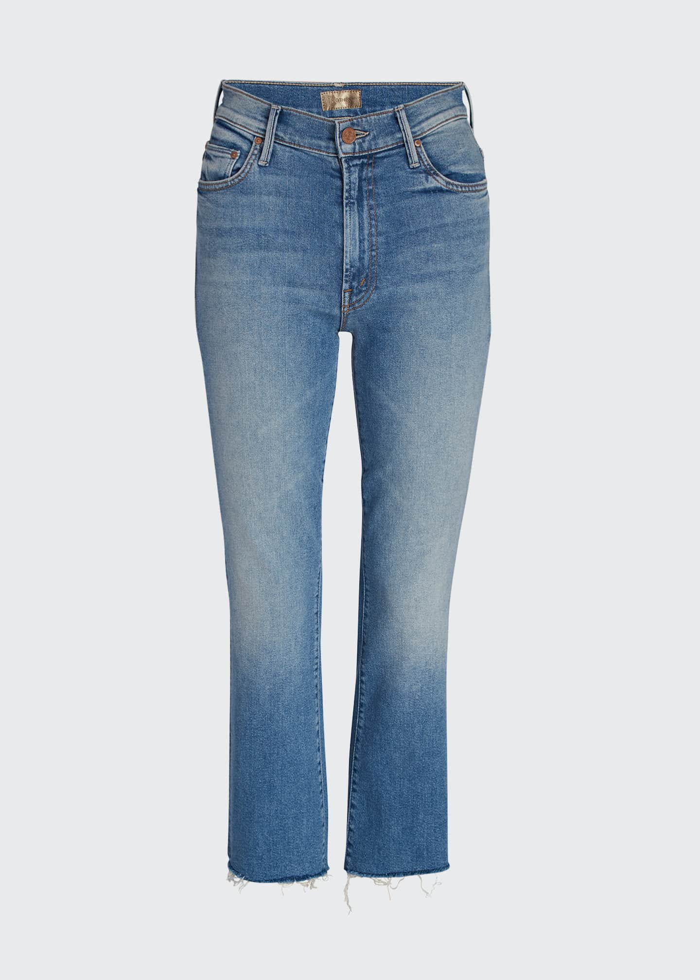 Image 5 of 5: Insider Cropped Step Fray Jeans